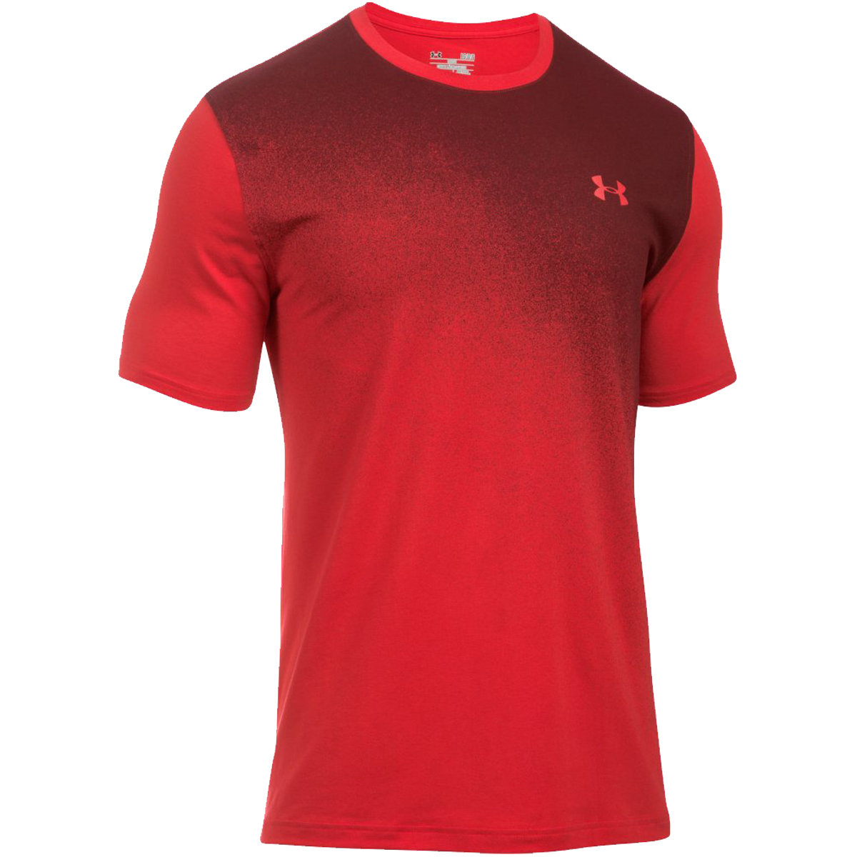 Under armour 2017 mens left chest spray gradient ss t for Under armour lifting shirts