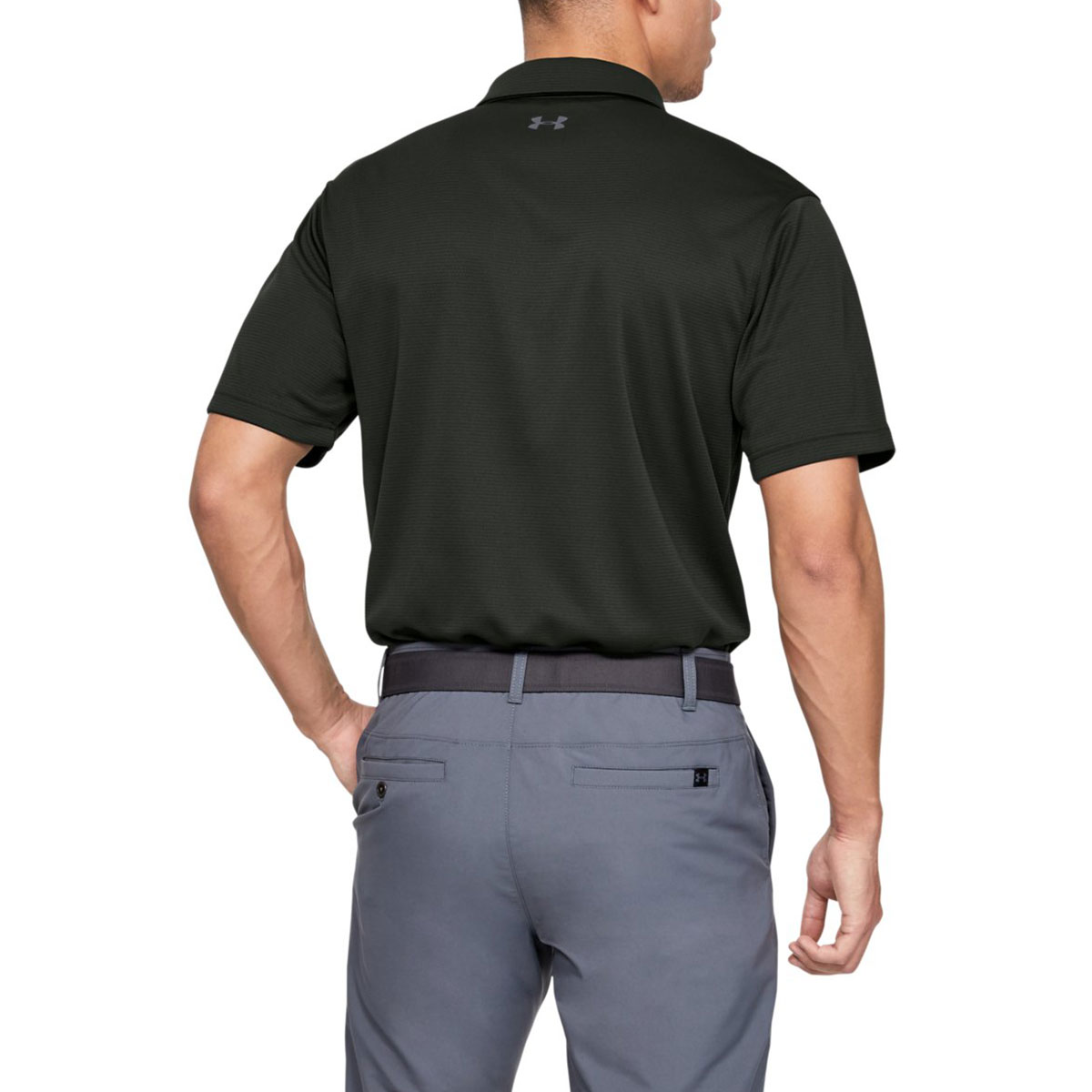 Under-Armour-Mens-2019-Golf-Tech-Wicking-Textured-Soft-Light-Polo-Shirt thumbnail 9