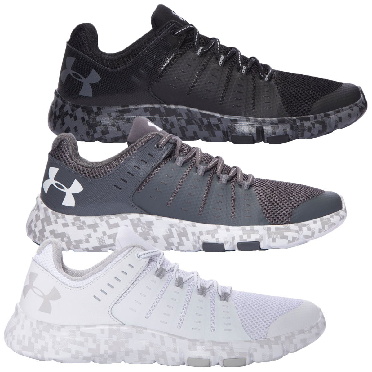 Details about Under Armour Mens UA Micro G Limitless TR 2 SE Trainers  Fitness Shoes - White f0db47bfc8e5