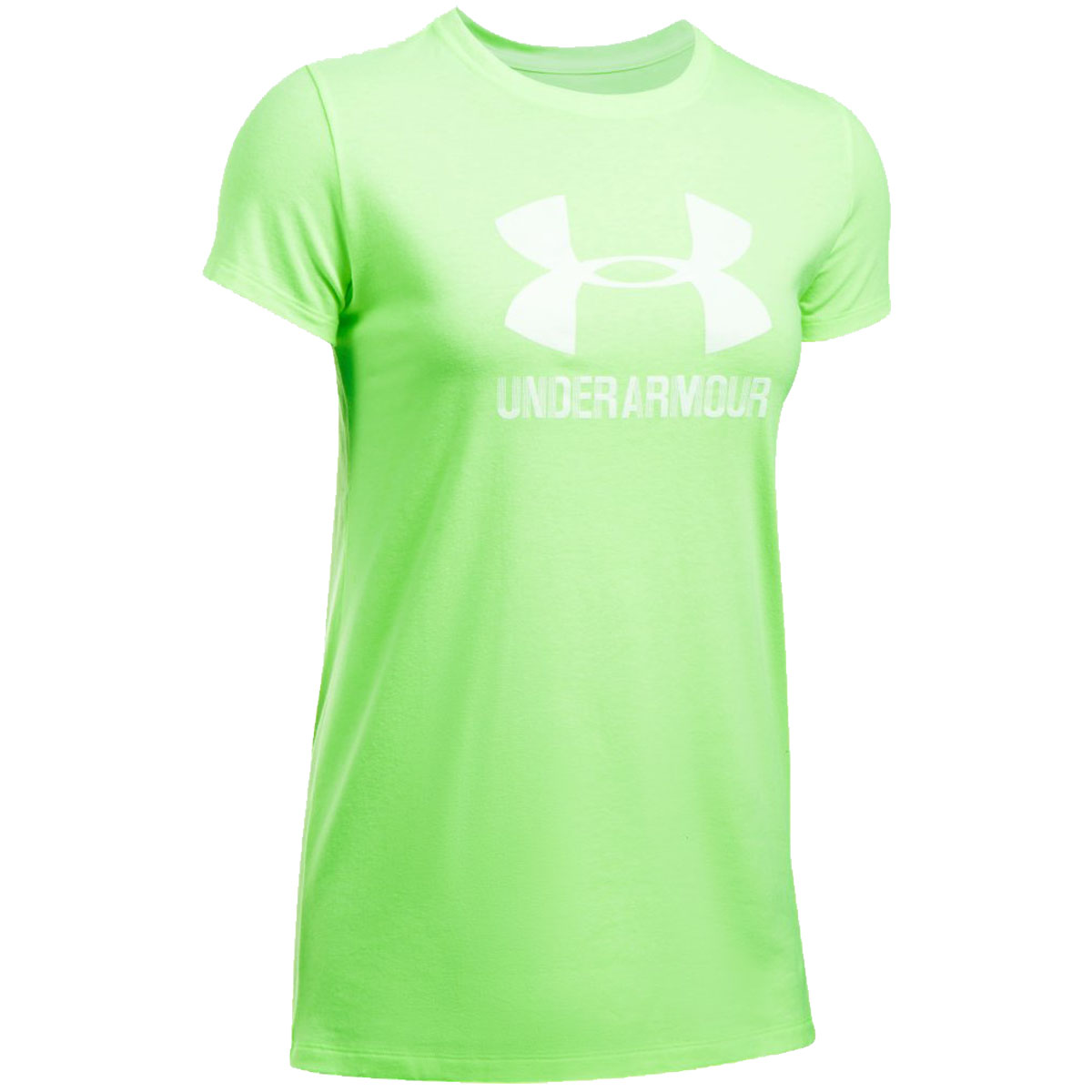 Under-Armour-Womens-Sportstyle-Crew-Neck-Gym-Training-Sports-T-Shirt
