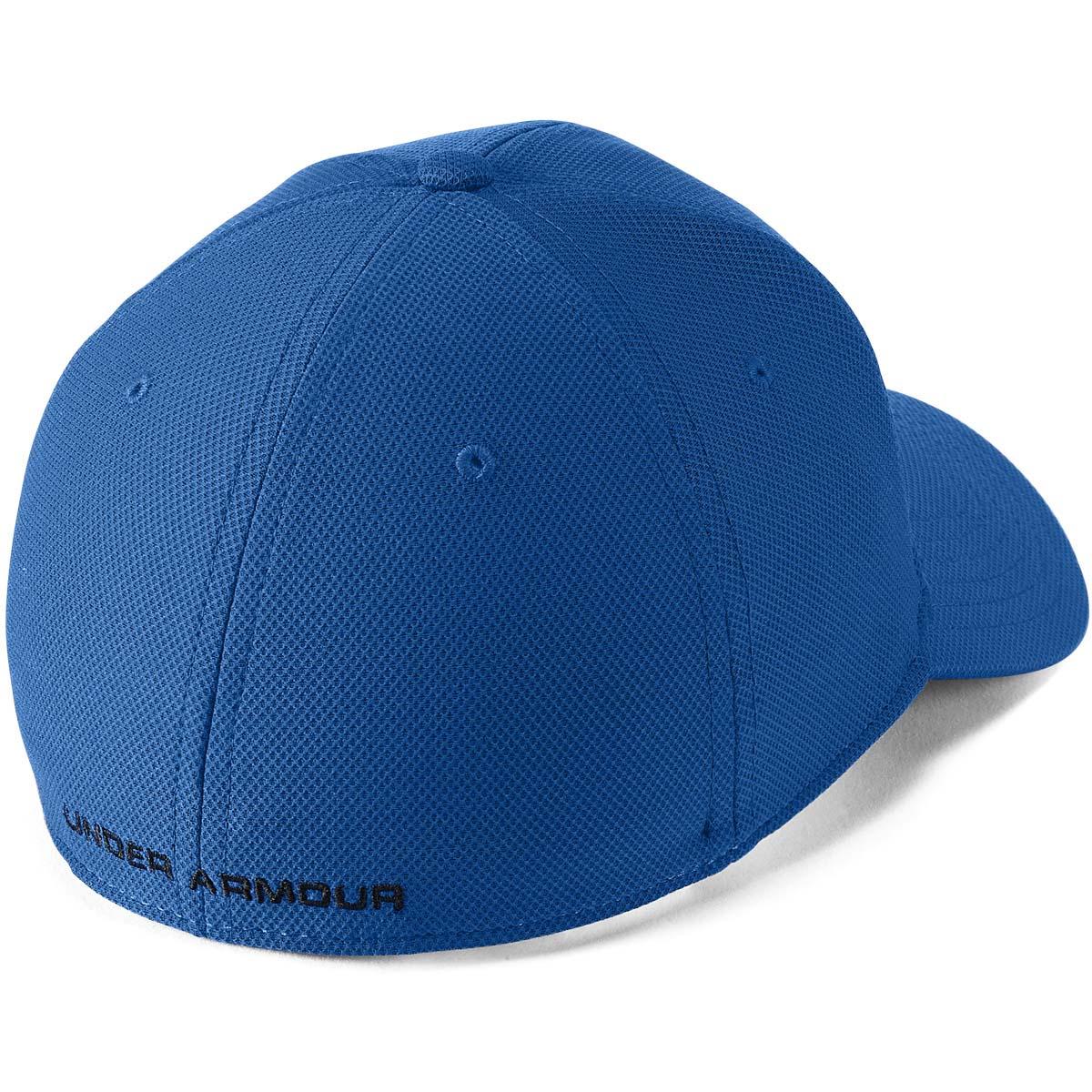 Under-Armour-Mens-Blitzing-3-0-Golf-Stretch-Fit-Curved-Peak-Hat-Cap