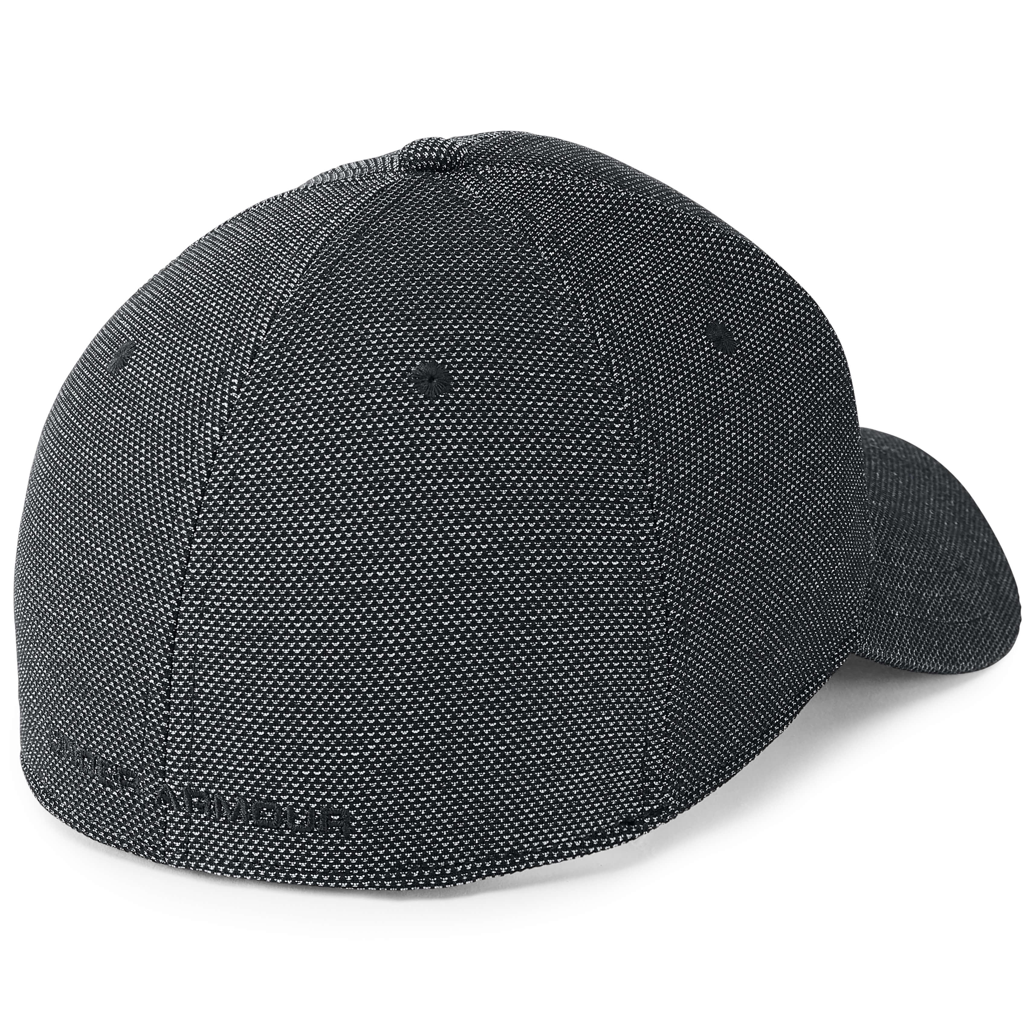Under-Armour-Gris-Blitzing-3-0-Golf-HeatGear-Coupe-Extensible-Chapeau-Bonnet miniature 3