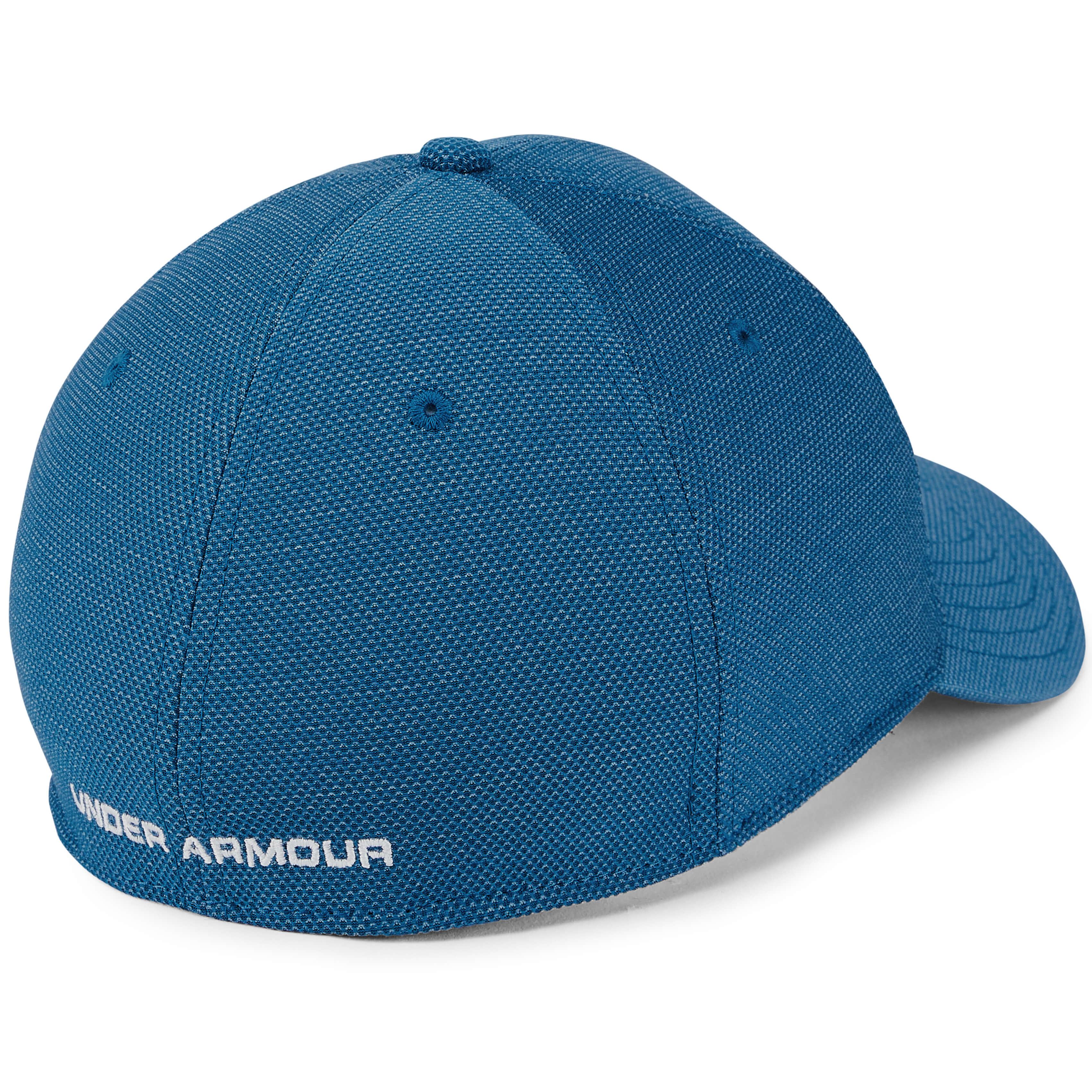 Under-Armour-Gris-Blitzing-3-0-Golf-HeatGear-Coupe-Extensible-Chapeau-Bonnet miniature 7