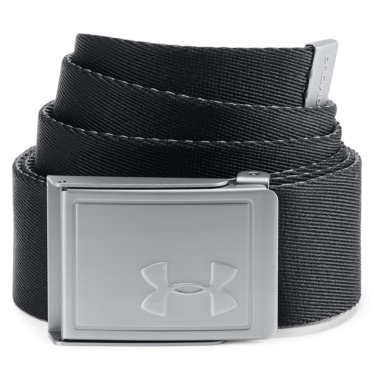 Under-Armour-Mens-2019-Webbing-2-0-Reversible-2-in-1-Fabric-Golf-Belt thumbnail 6