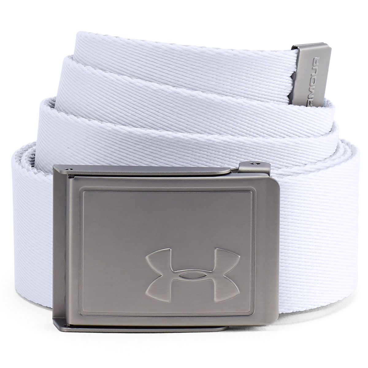 Under-Armour-Mens-2019-Webbing-2-0-Reversible-2-in-1-Fabric-Golf-Belt thumbnail 13