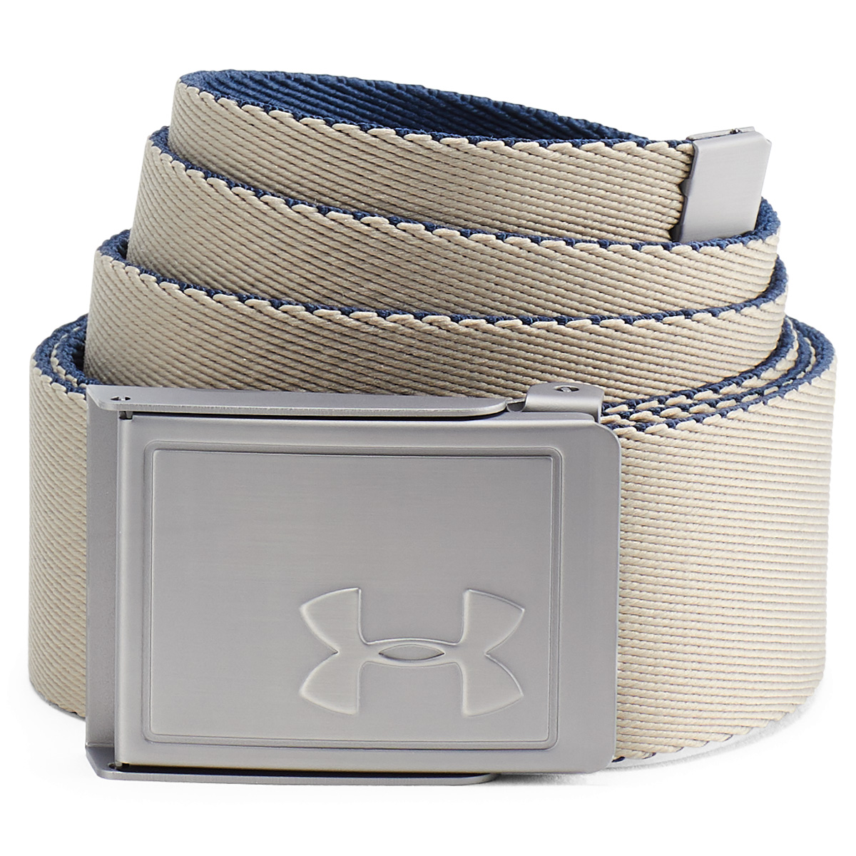 Under-Armour-Mens-2019-Webbing-2-0-Reversible-2-in-1-Fabric-Golf-Belt thumbnail 3