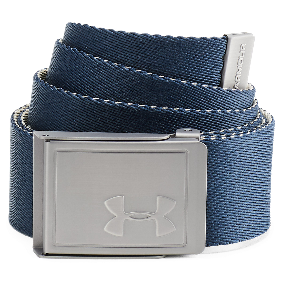Under-Armour-Mens-2019-Webbing-2-0-Reversible-2-in-1-Fabric-Golf-Belt thumbnail 4
