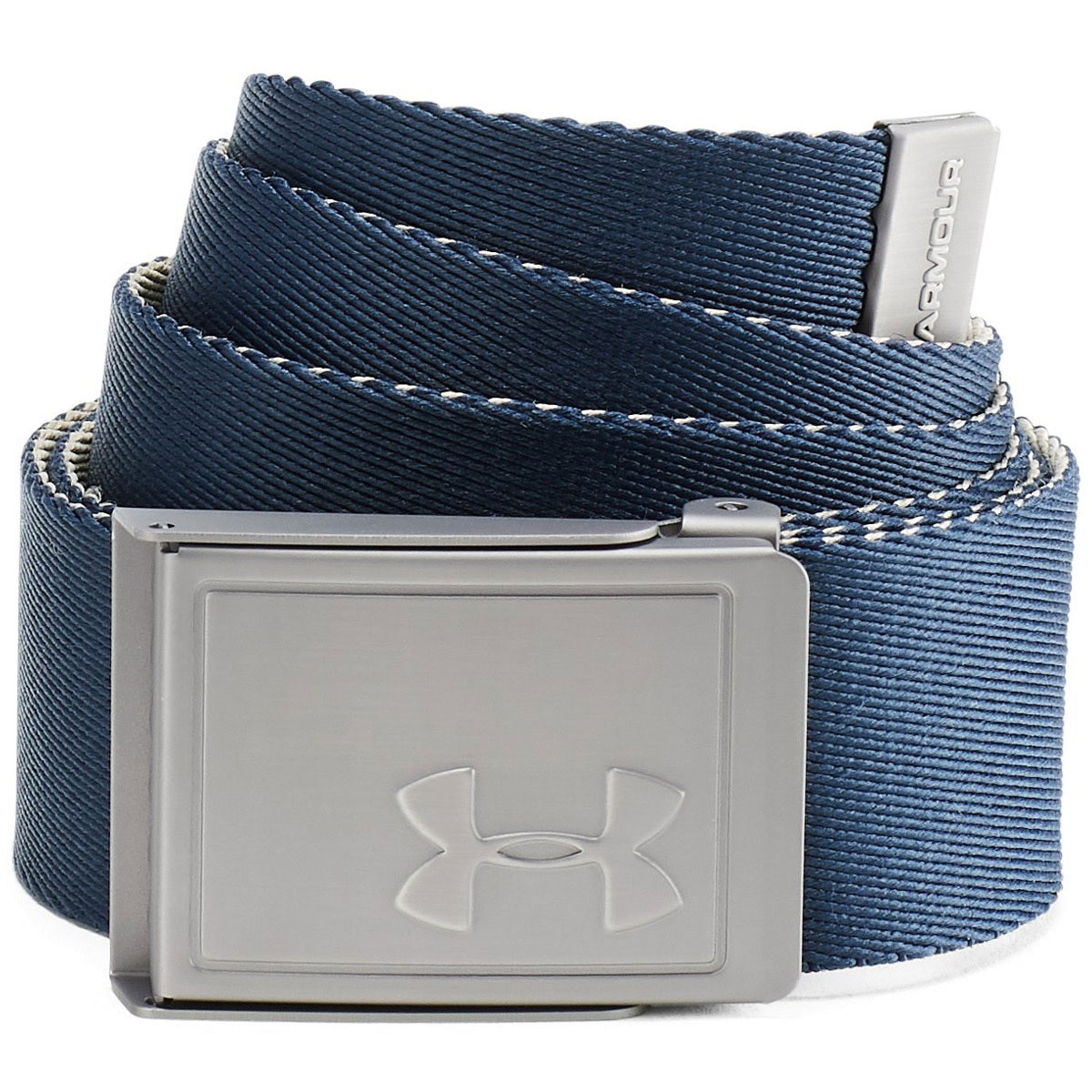 Under-Armour-Mens-2019-Webbing-2-0-Reversible-2-in-1-Fabric-Golf-Belt thumbnail 16