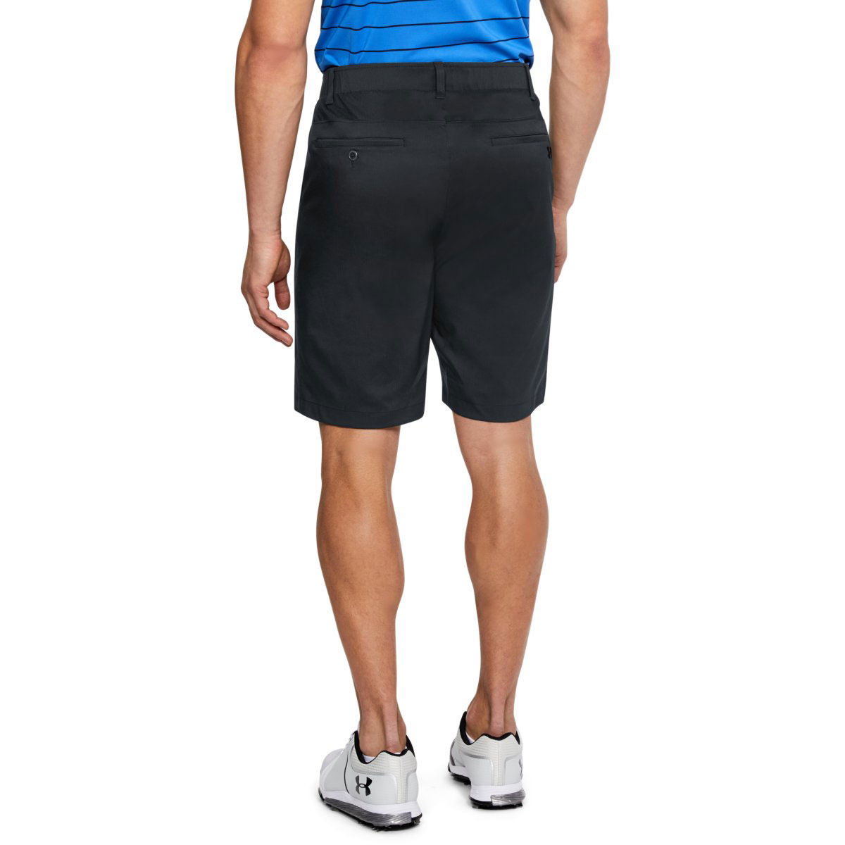 Under-Armour-Mens-Takeover-Taper-Mid-Length-Golf-Shorts-42-OFF-RRP thumbnail 6