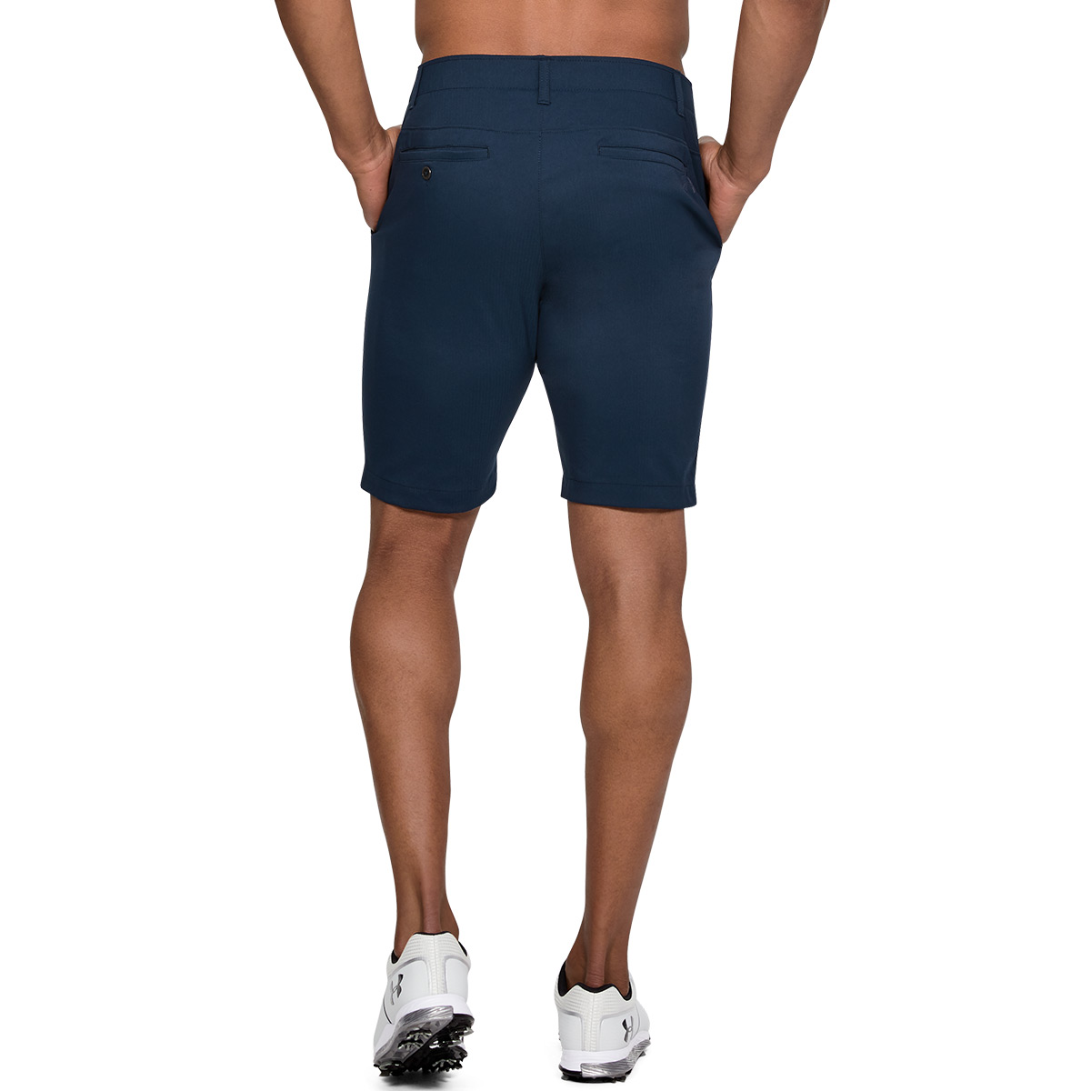 Under-Armour-Mens-Takeover-Taper-Mid-Length-Golf-Shorts-42-OFF-RRP thumbnail 3
