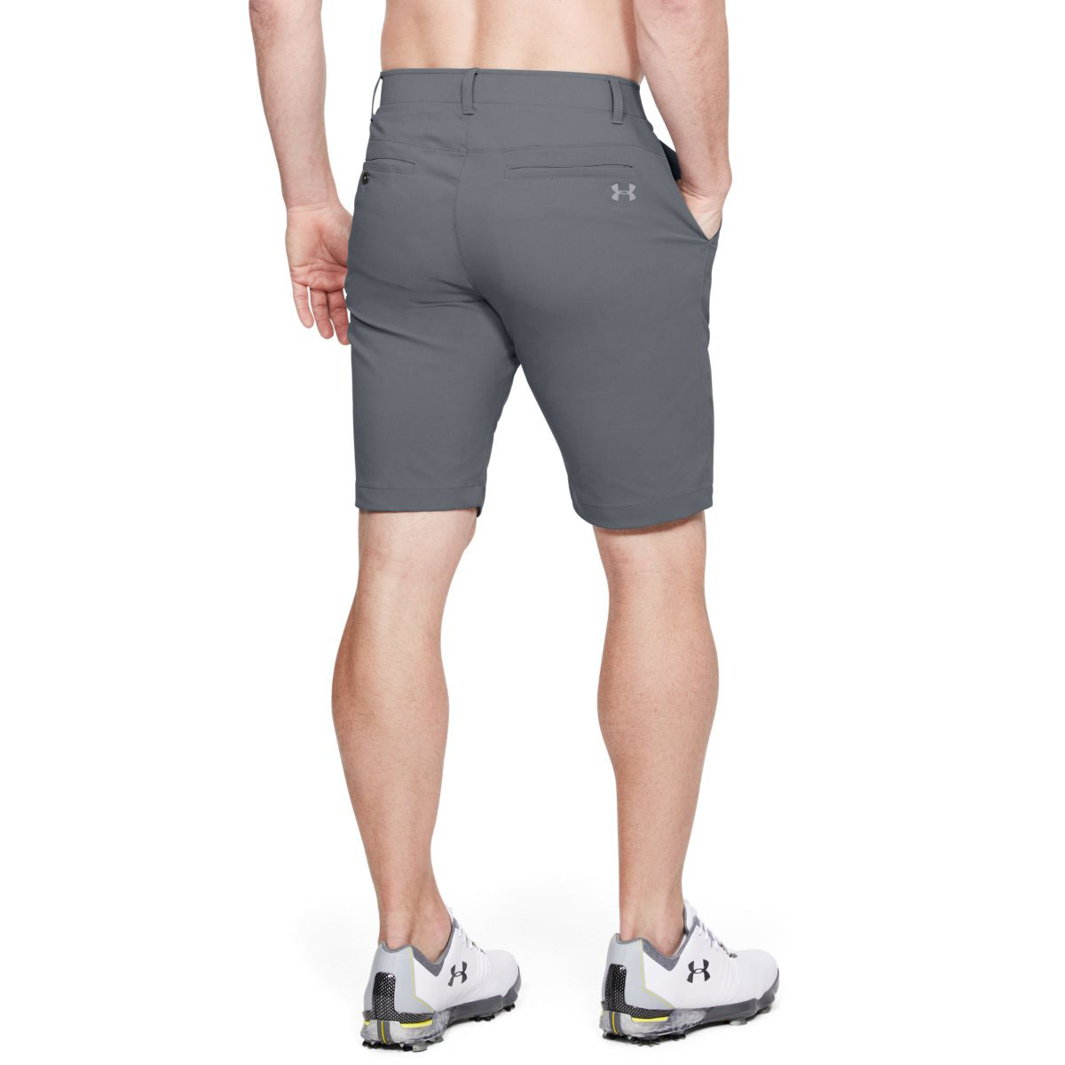 Under-Armour-Mens-Takeover-Taper-Mid-Length-Golf-Shorts-42-OFF-RRP thumbnail 22