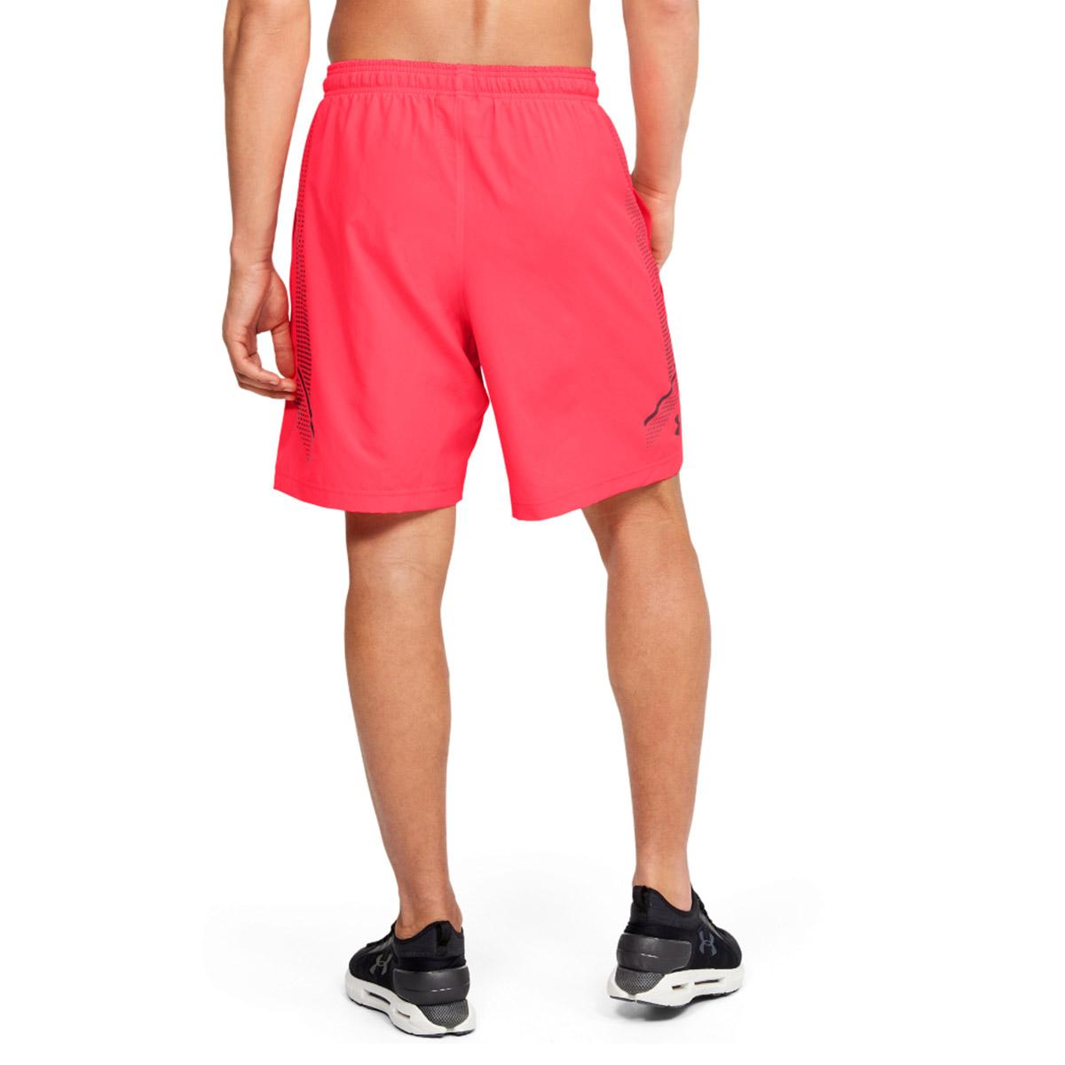 Under-Armour-Homme-2020-Tisse-graphique-Leger-Respirable-Wicking-Shorts miniature 9