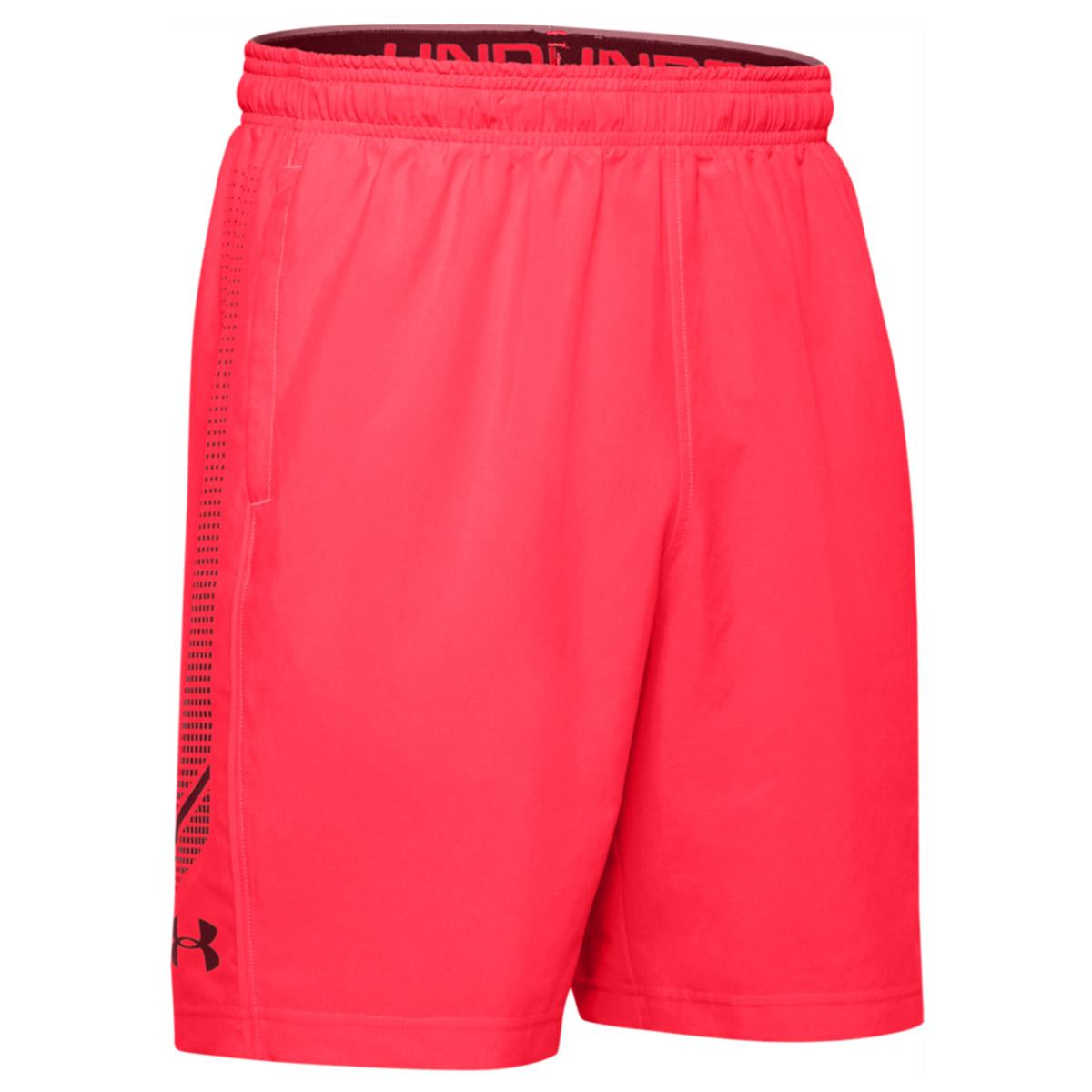 Under-Armour-Homme-2020-Tisse-graphique-Leger-Respirable-Wicking-Shorts miniature 10
