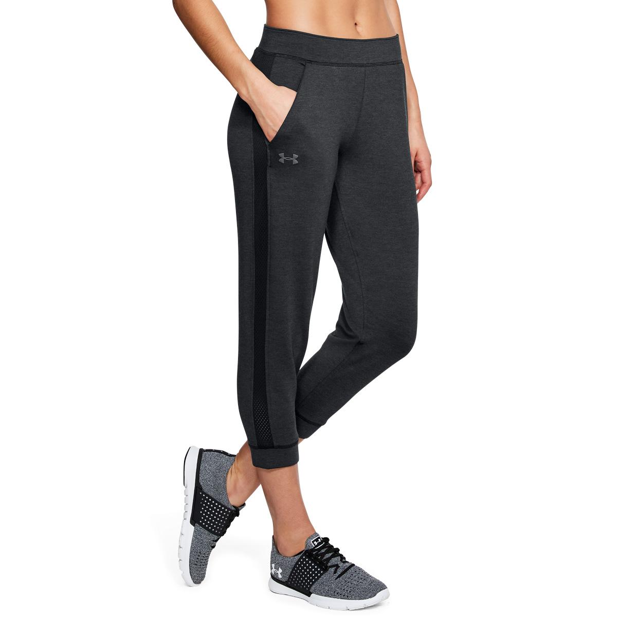 ... Under Armour Femme 2018 poids plume Crop Toison formation Pantalon  Pantalon formation De Jogging 4a3754 ... cf42b35a3828