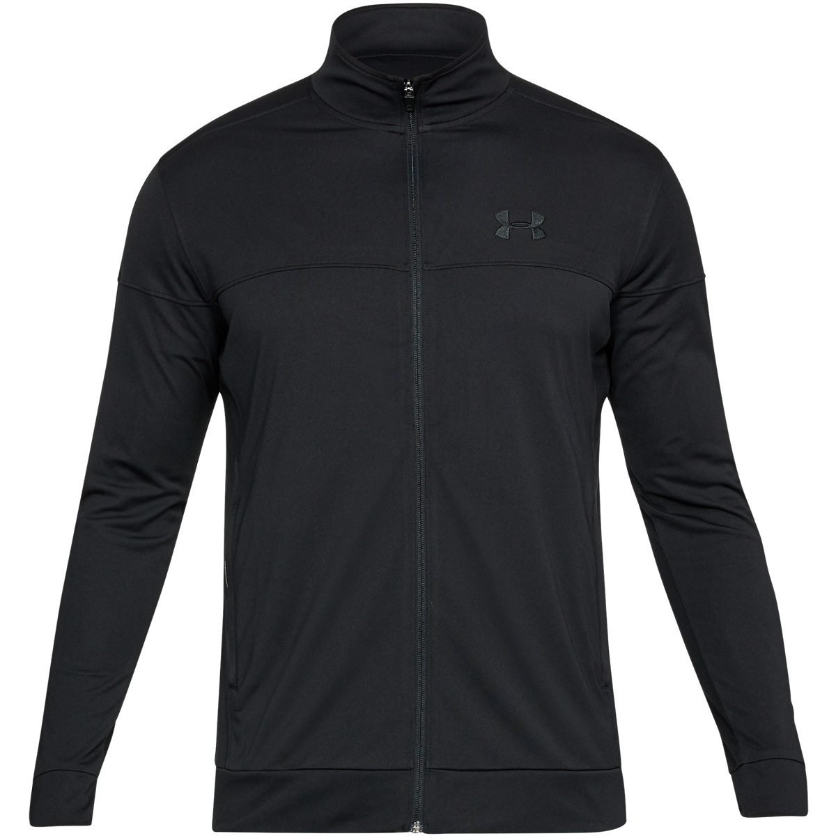 Under-Armour-Mens-2019-Sportstyle-Pique-Sports-Training-Full-Zip-Track-Jacket thumbnail 9