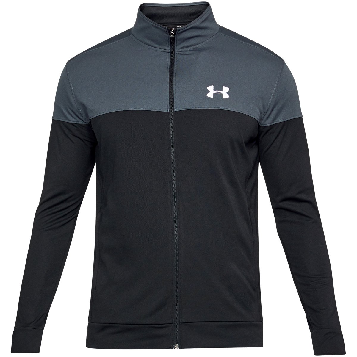 Under-Armour-Mens-2019-Sportstyle-Pique-Sports-Training-Full-Zip-Track-Jacket thumbnail 12