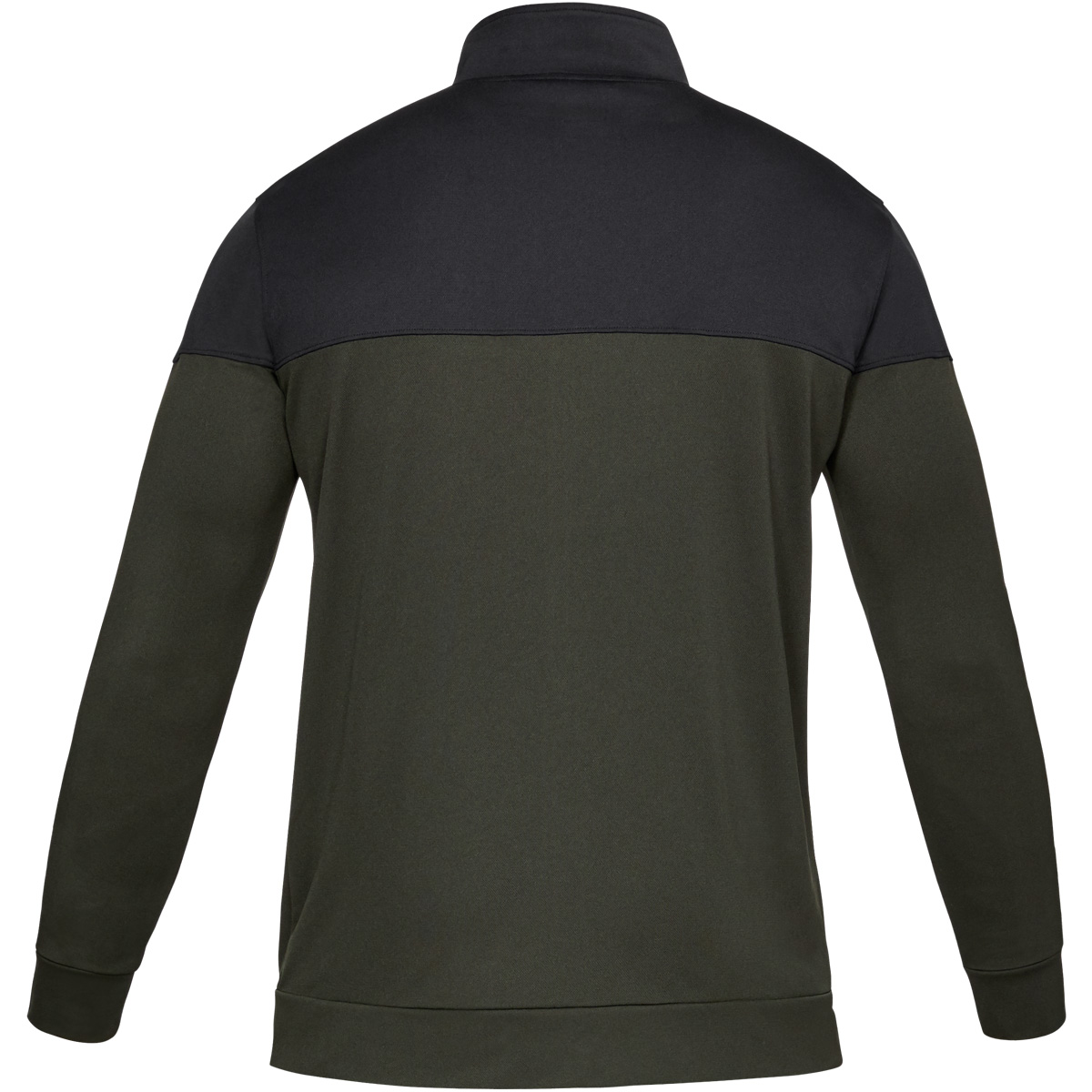 Under-Armour-Mens-2019-Sportstyle-Pique-Sports-Training-Full-Zip-Track-Jacket thumbnail 7