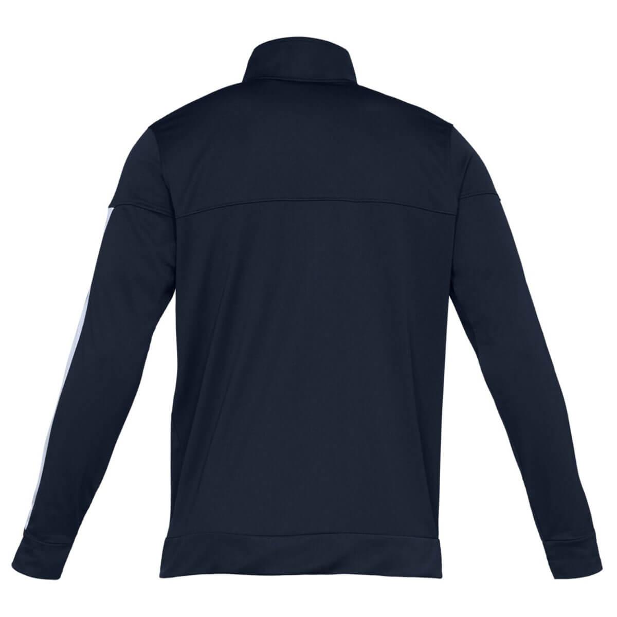 Under-Armour-Mens-2019-Sportstyle-Pique-Stretch-Quick-Dry-Wicking-Fleece-Jacket miniatura 5