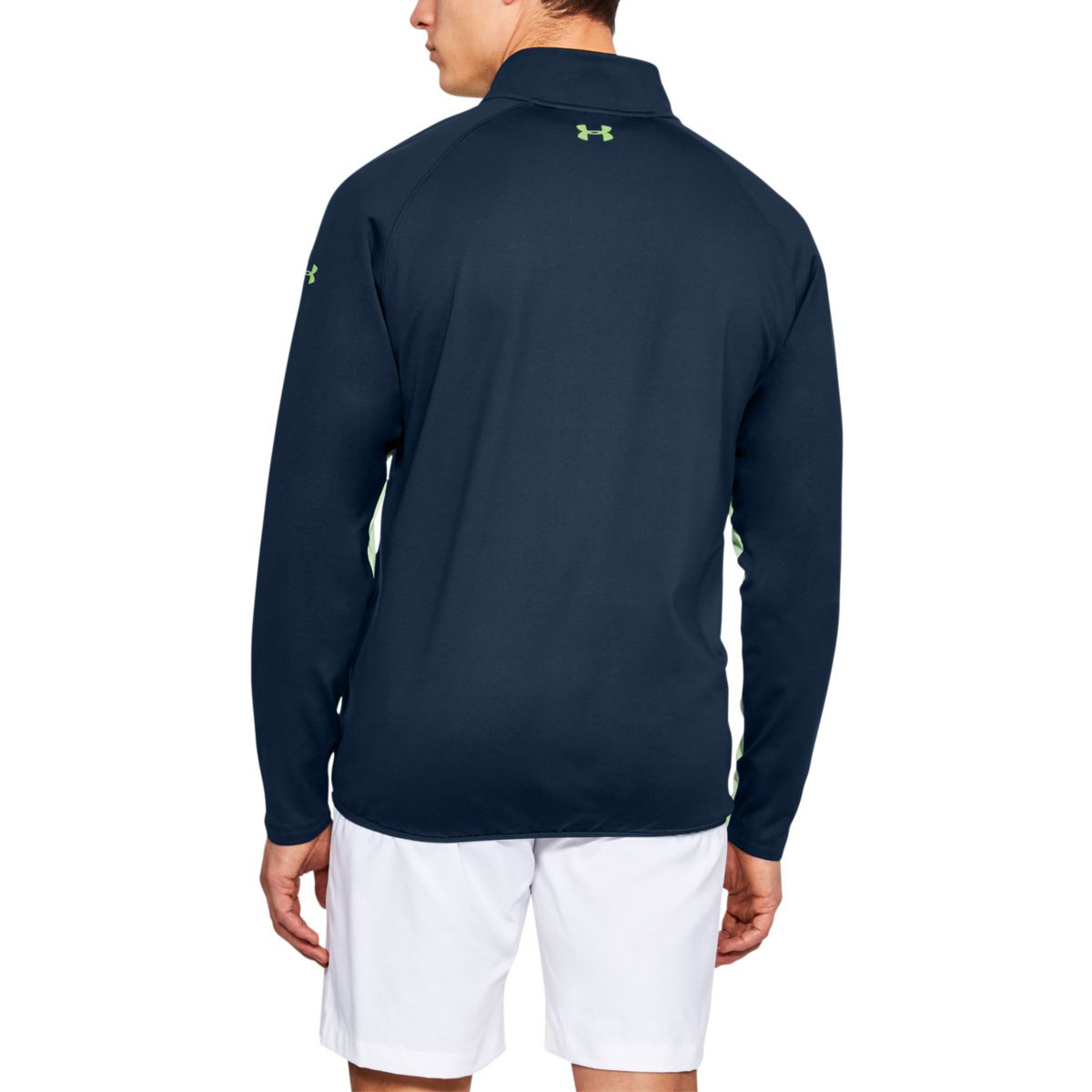 Under-Armour-Mens-Golf-1-4-Zip-Moisture-Control-Crestable-Sweater-45-OFF-RRP thumbnail 3