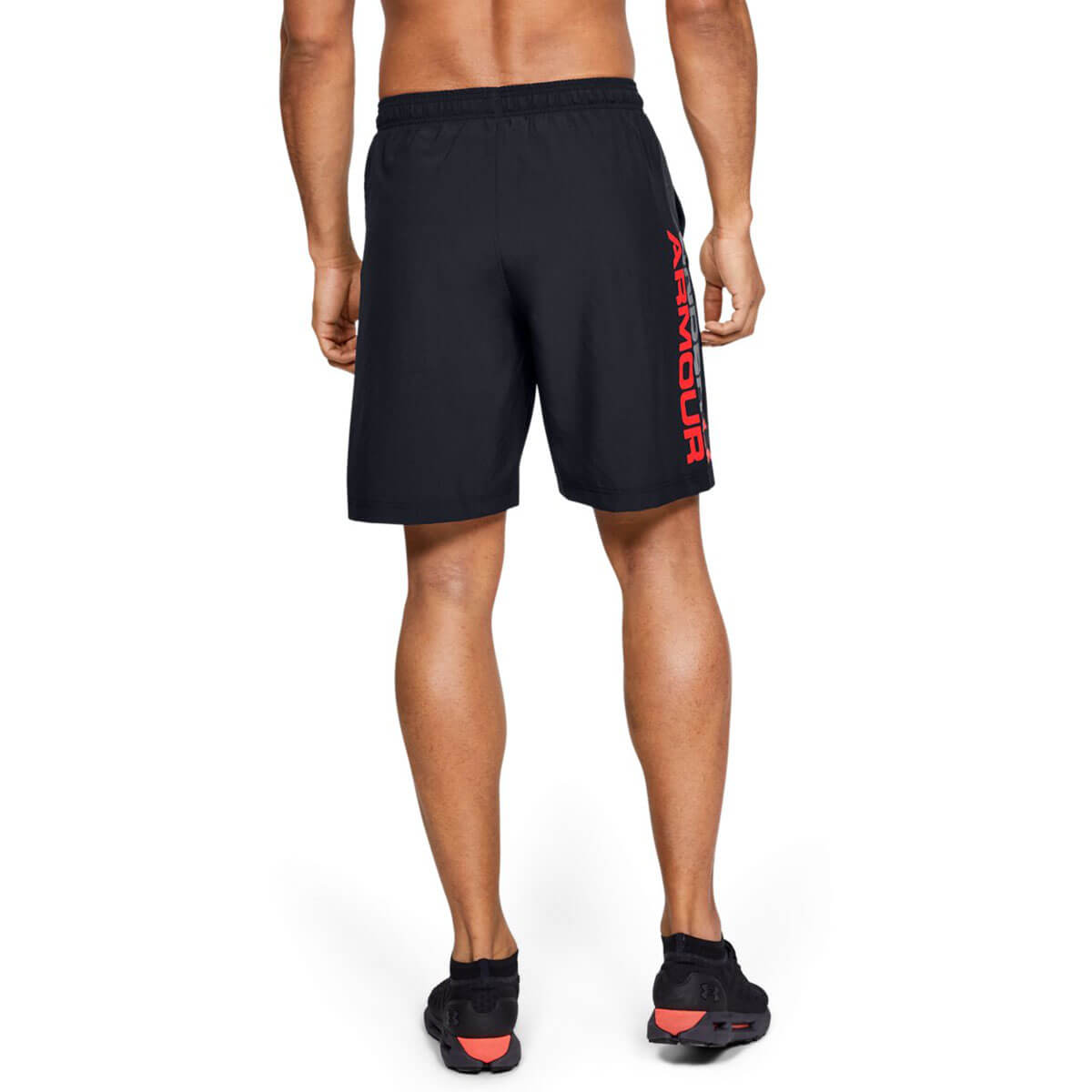 Under-Armour-Mens-2019-Woven-Graphic-Wordmark-Lightweight-Breathable-Shorts thumbnail 7