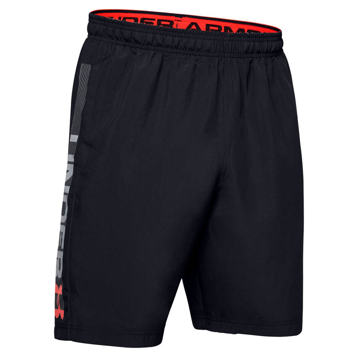 Under-Armour-Mens-2019-Woven-Graphic-Wordmark-Lightweight-Breathable-Shorts thumbnail 8