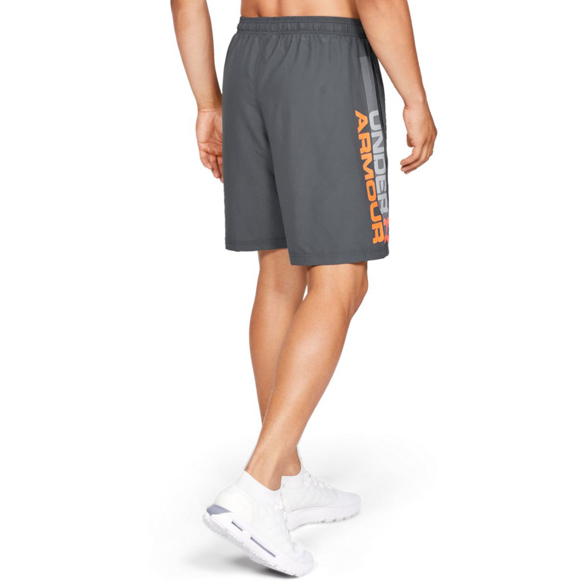 Under-Armour-Mens-2019-Woven-Graphic-Wordmark-Lightweight-Breathable-Shorts thumbnail 15