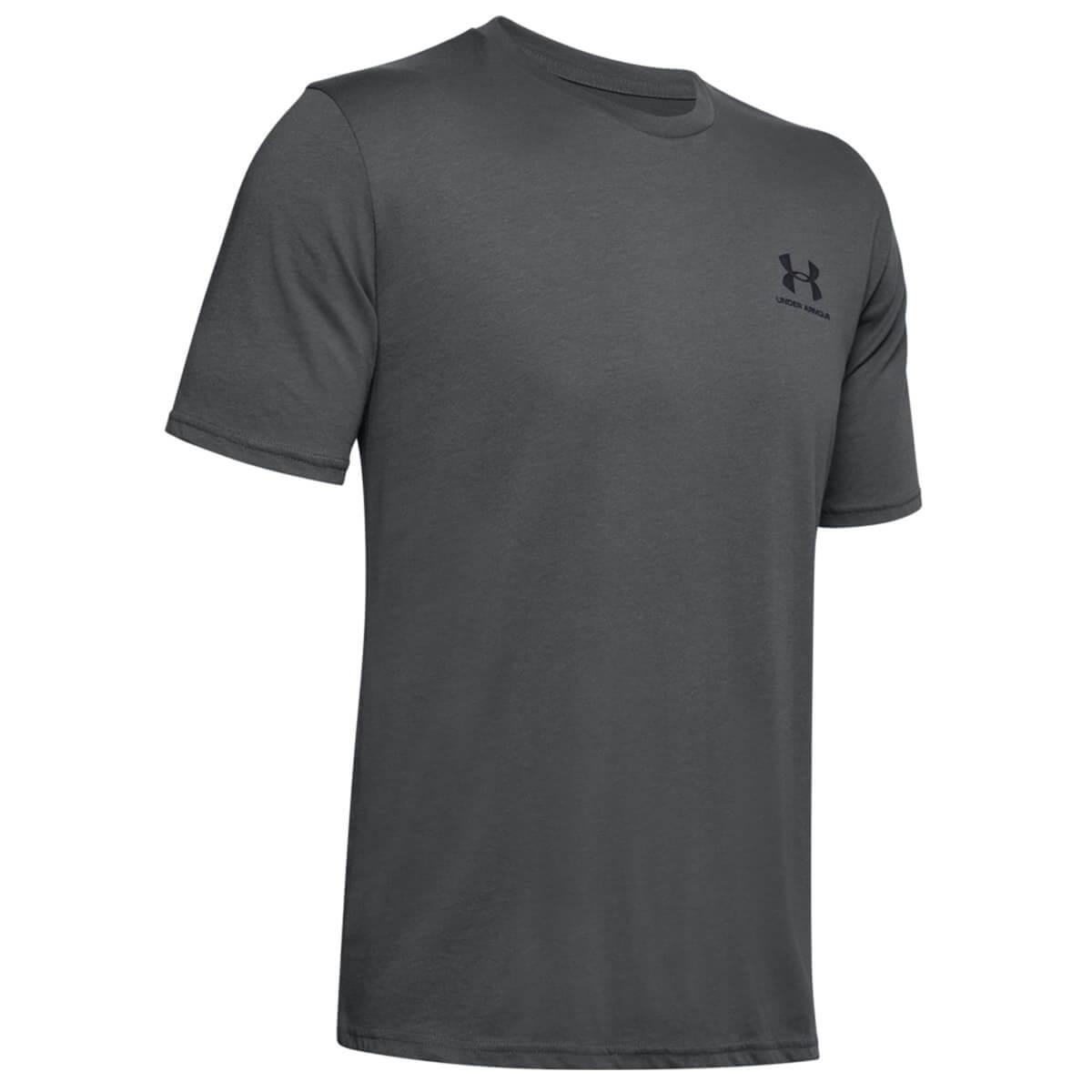 Detalles de Under Armour Hombres 2020 quien pecho izquierdo logo UA acusado algodón camiseta ver título original