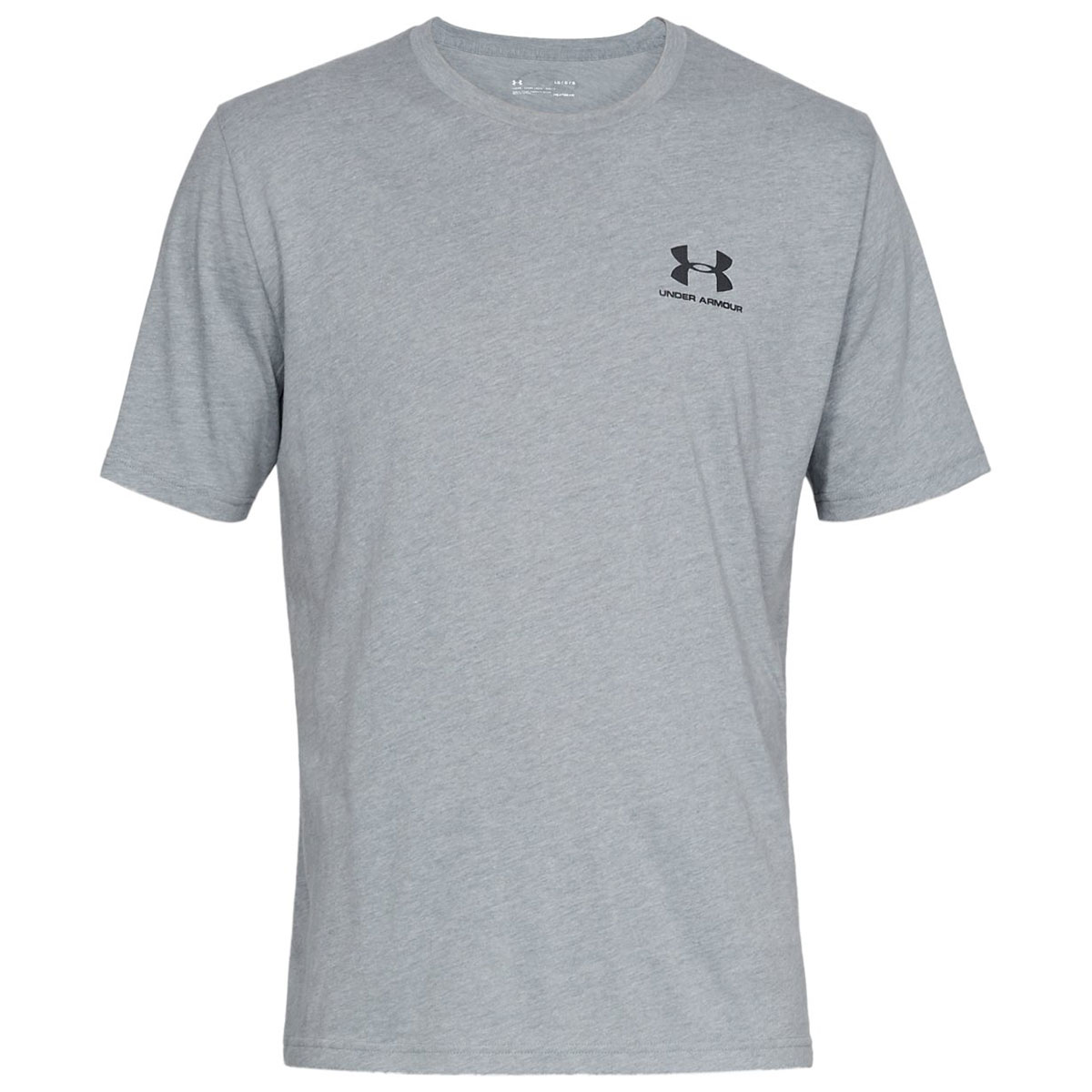 Under-Armour-Mens-2019-Sportstyle-Left-Chest-UA-Logo-Charged-Cotton-T-Shirt thumbnail 34
