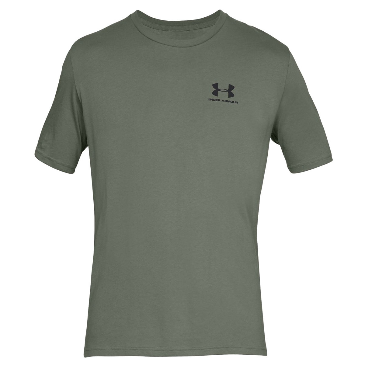 Under-Armour-Mens-2019-Sportstyle-Left-Chest-UA-Logo-Charged-Cotton-T-Shirt thumbnail 24