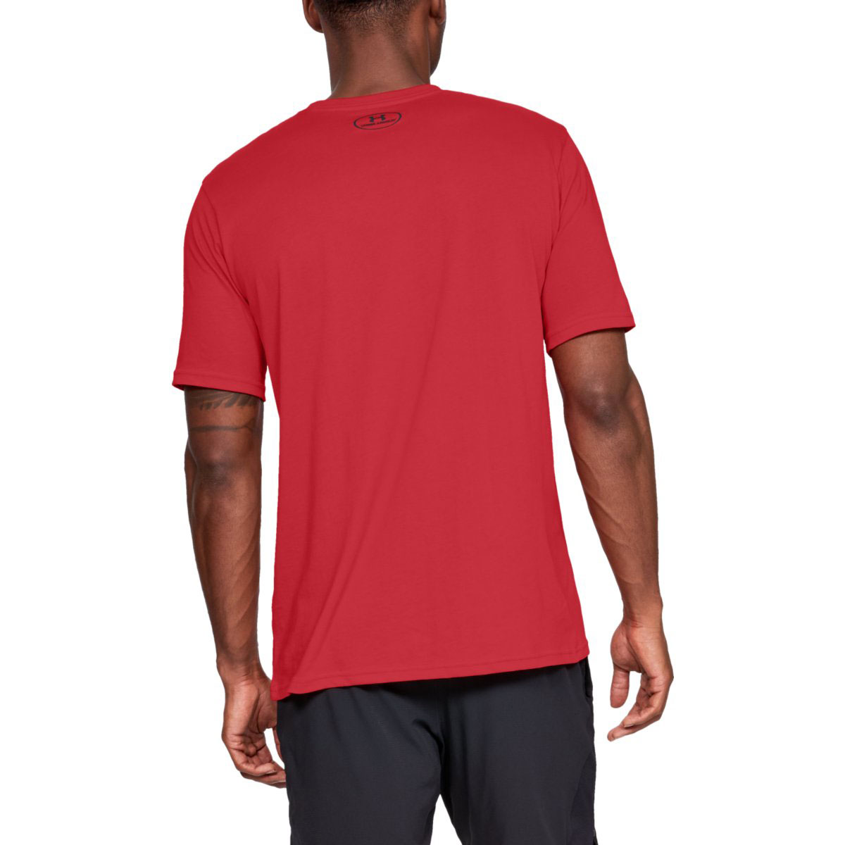 Under-Armour-Mens-2019-Sportstyle-Left-Chest-UA-Logo-Charged-Cotton-T-Shirt thumbnail 27