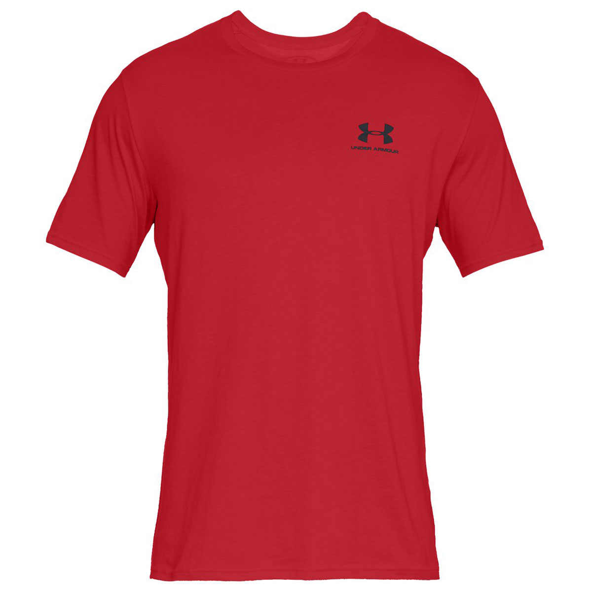Under-Armour-Mens-2019-Sportstyle-Left-Chest-UA-Logo-Charged-Cotton-T-Shirt thumbnail 32