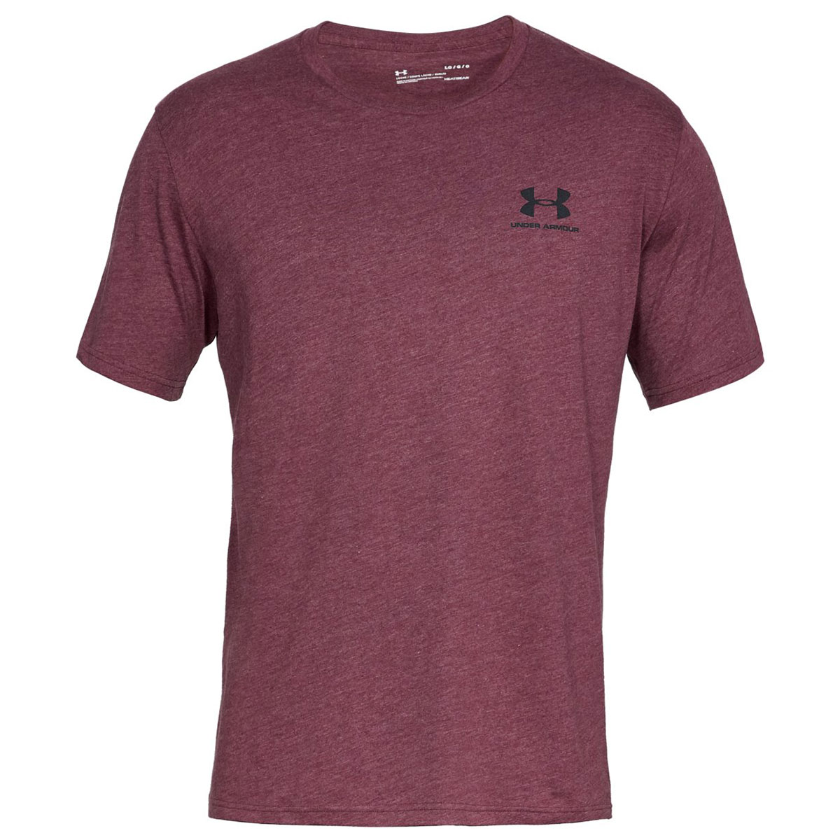 Under-Armour-Mens-2019-Sportstyle-Left-Chest-UA-Logo-Charged-Cotton-T-Shirt thumbnail 20