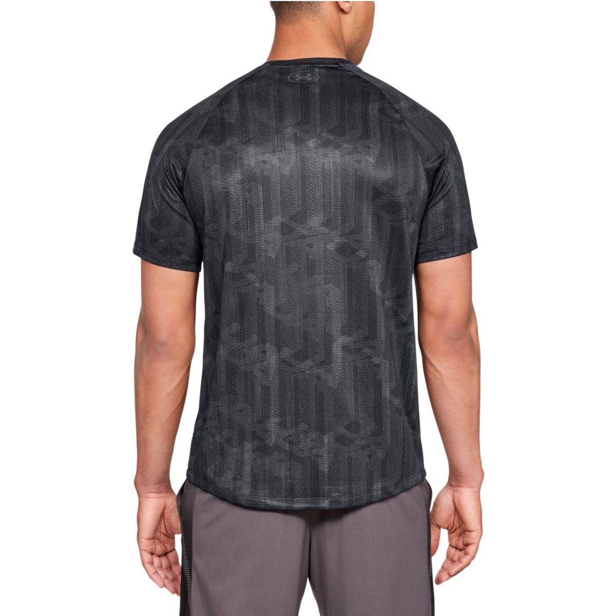 Under-Armour-Mens-UA-Tech-SS-Printed-Moisture-Wicking-T-Shirt-Tee-27-OFF-RRP thumbnail 3