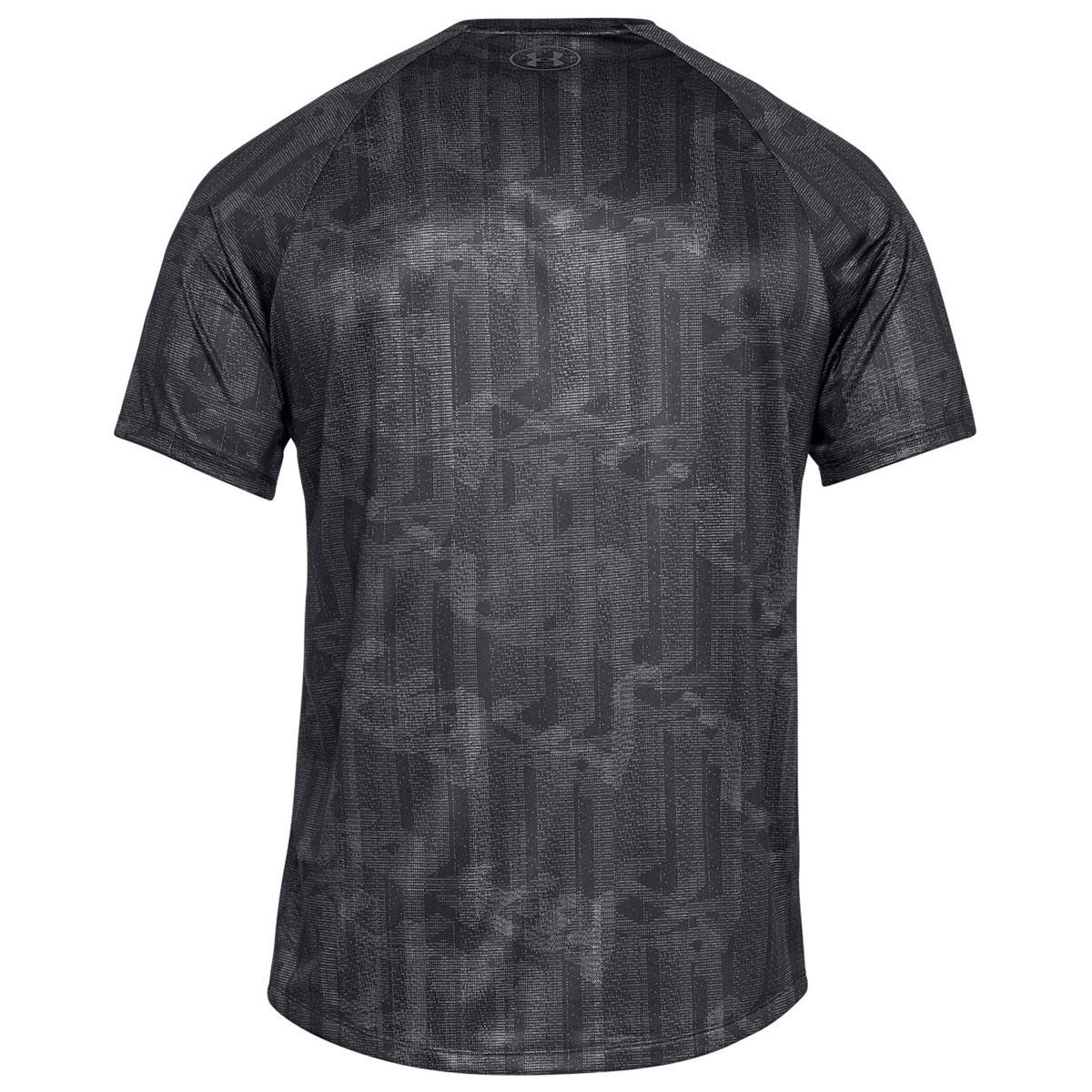 Under-Armour-Mens-UA-Tech-SS-Printed-Moisture-Wicking-T-Shirt-Tee-27-OFF-RRP thumbnail 5