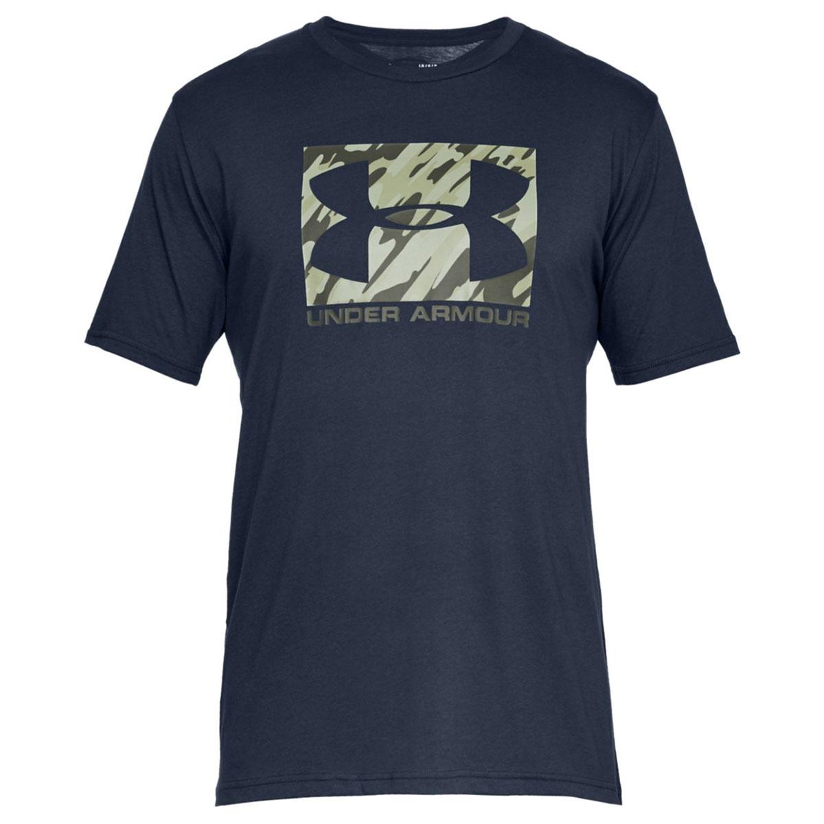 Under-Armour-Mens-2019-UA-Boxed-Sportstyle-HeatGear-Training-Gym-T-Shirt-Tee thumbnail 4