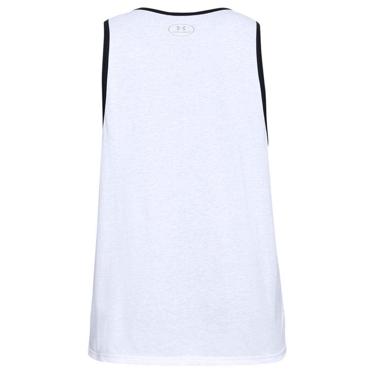 Under-Armour-Mens-2019-Sportstyle-Logo-Tank-Soft-Sleeveless-Cotton-Vest Indexbild 8