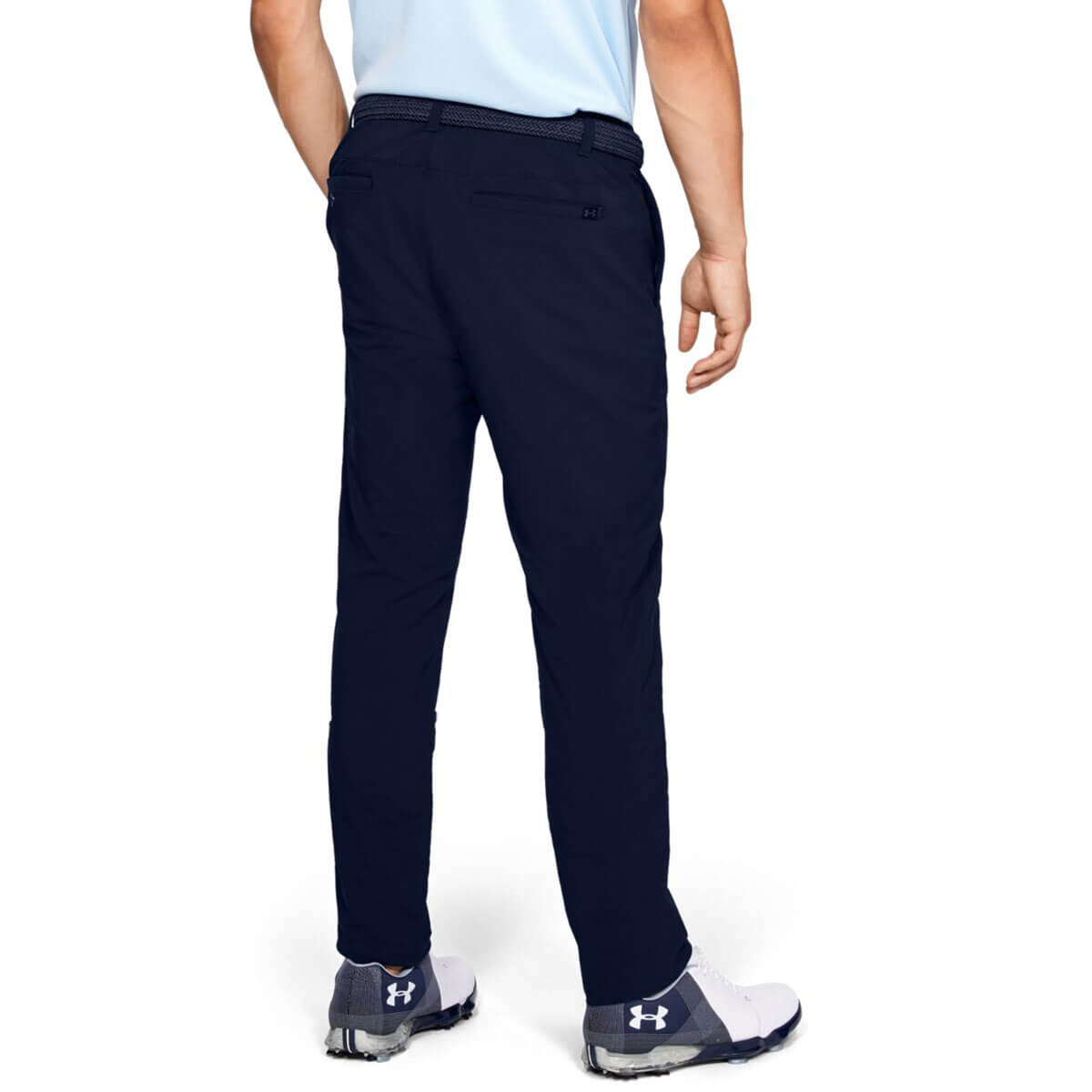 Under-Armour-Mens-2019-EU-Performance-Slim-Taper-Soft-Stretch-Golf-Trousers thumbnail 3