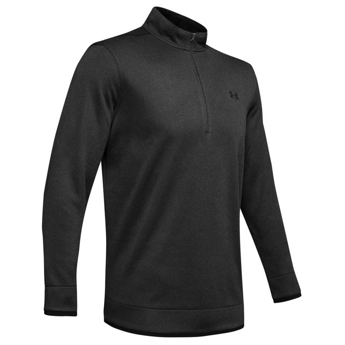 Under-Armour-Homme-UA-sweaterfleece-1-2-zip-resistant-a-l-039-eau-Pullover-40-OFF-RRP miniature 15