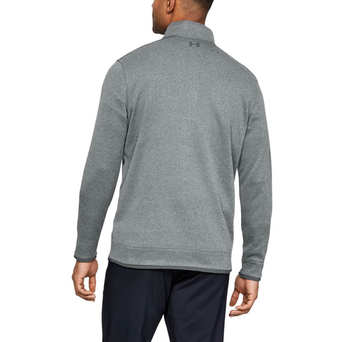 Under-Armour-Homme-UA-sweaterfleece-1-2-zip-resistant-a-l-039-eau-Pullover-40-OFF-RRP miniature 34