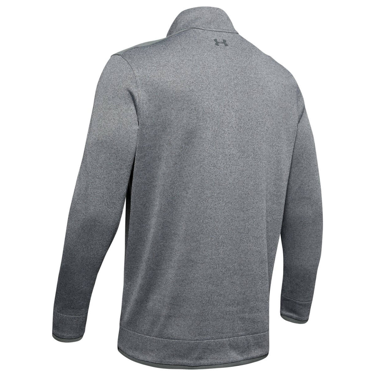 Under-Armour-Homme-UA-sweaterfleece-1-2-zip-resistant-a-l-039-eau-Pullover-40-OFF-RRP miniature 36