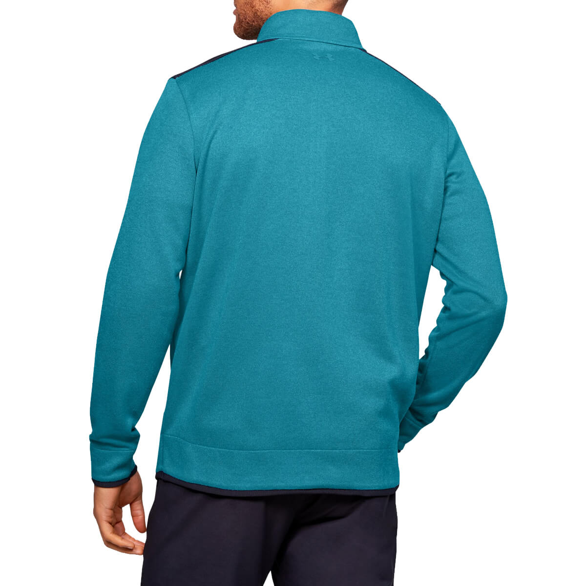 Under-Armour-Homme-UA-sweaterfleece-1-2-zip-resistant-a-l-039-eau-Pullover-40-OFF-RRP miniature 22