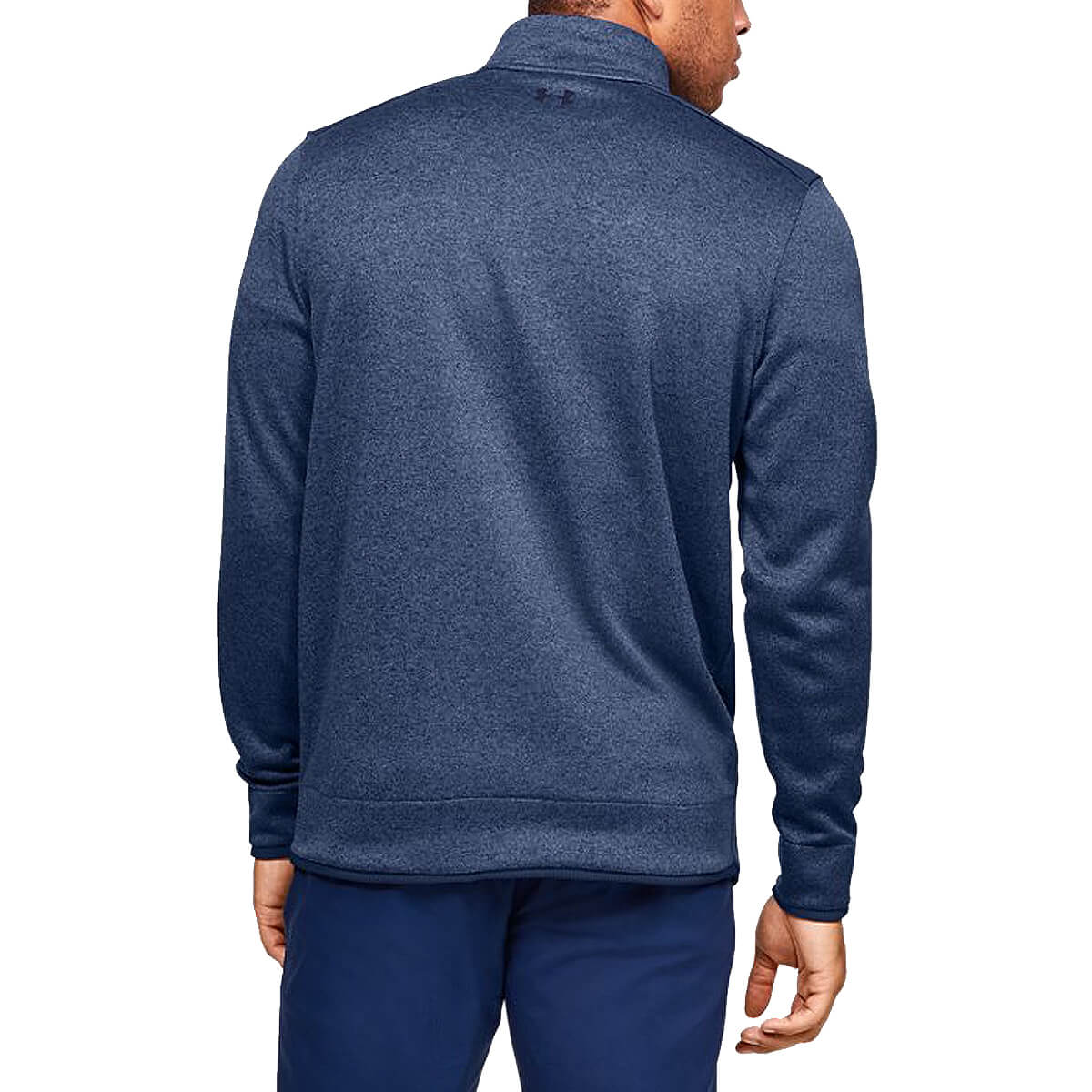 Under-Armour-Homme-UA-sweaterfleece-1-2-zip-resistant-a-l-039-eau-Pullover-40-OFF-RRP miniature 18