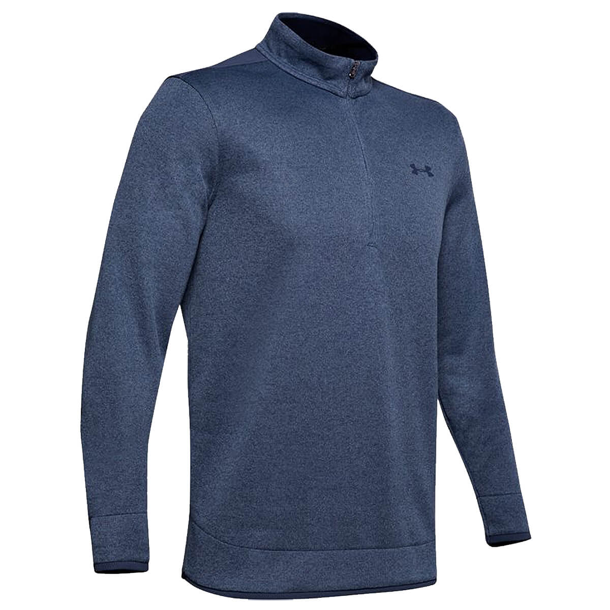 Under-Armour-Homme-UA-sweaterfleece-1-2-zip-resistant-a-l-039-eau-Pullover-40-OFF-RRP miniature 19