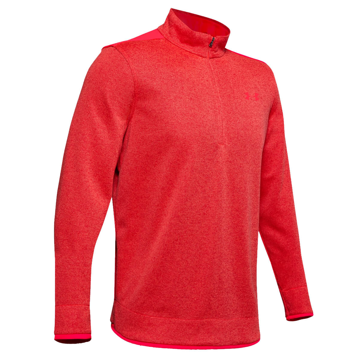 Under-Armour-Homme-UA-sweaterfleece-1-2-zip-resistant-a-l-039-eau-Pullover-40-OFF-RRP miniature 11