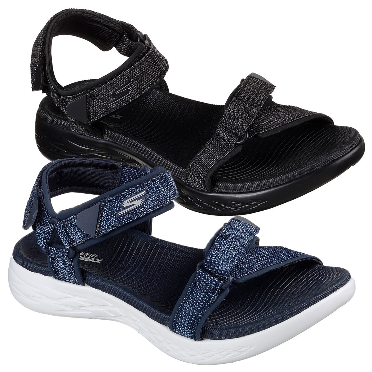 Details about Skechers Womens On The Go 600 Radiant Sandals