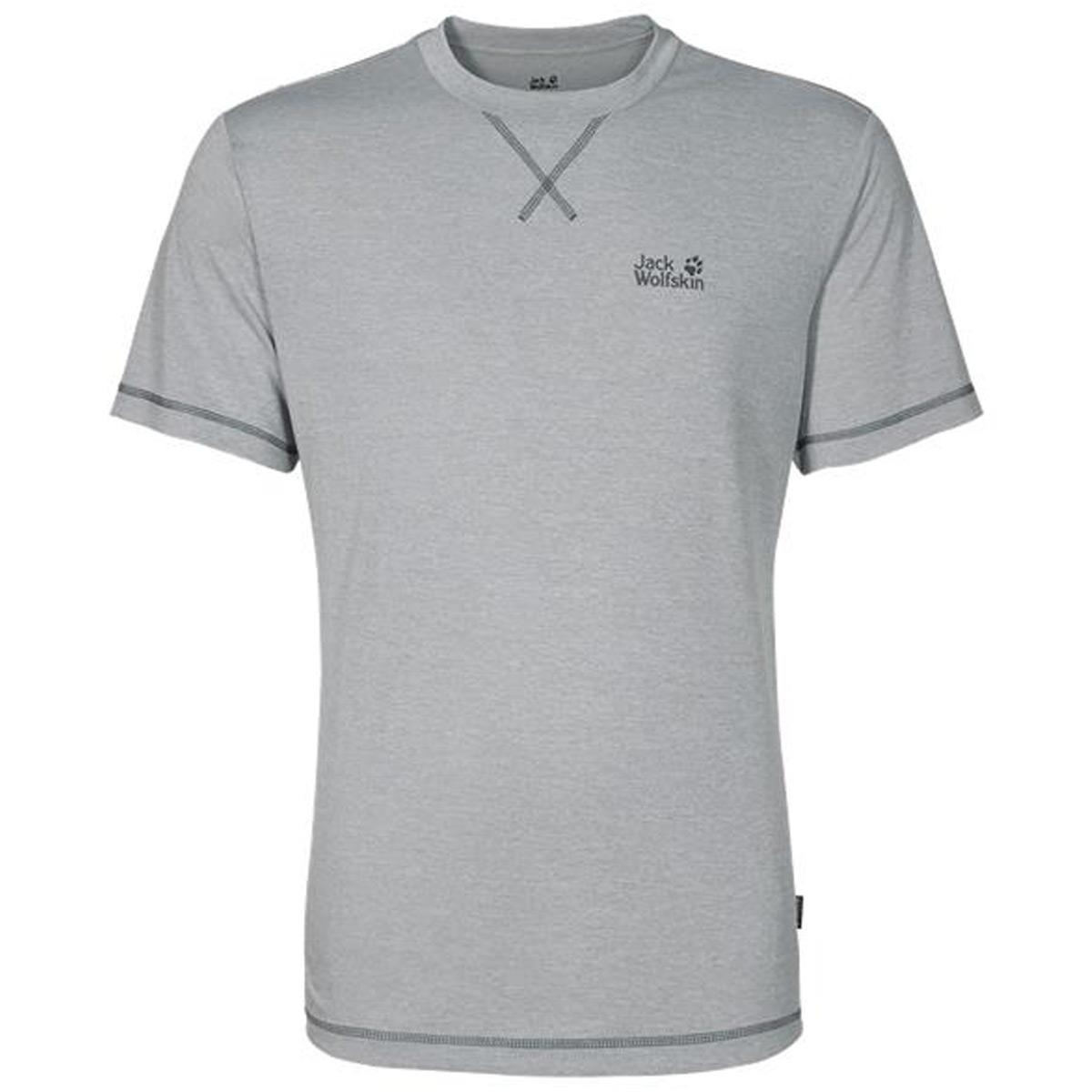 Jack-Wolfskin-Hombres-2019-Crosstrail-Transpirable-Ligero-Camiseta-31-APAGADO-PVP