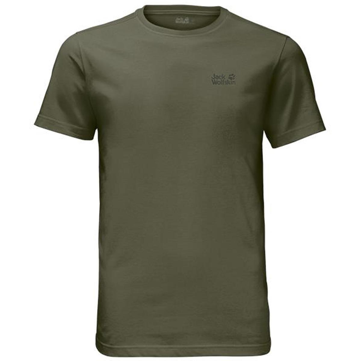 Jack-Wolfskin-Mens-2019-Essential-Cotton-Blend-Lightweight-T-Shirt-36-OFF-RRP