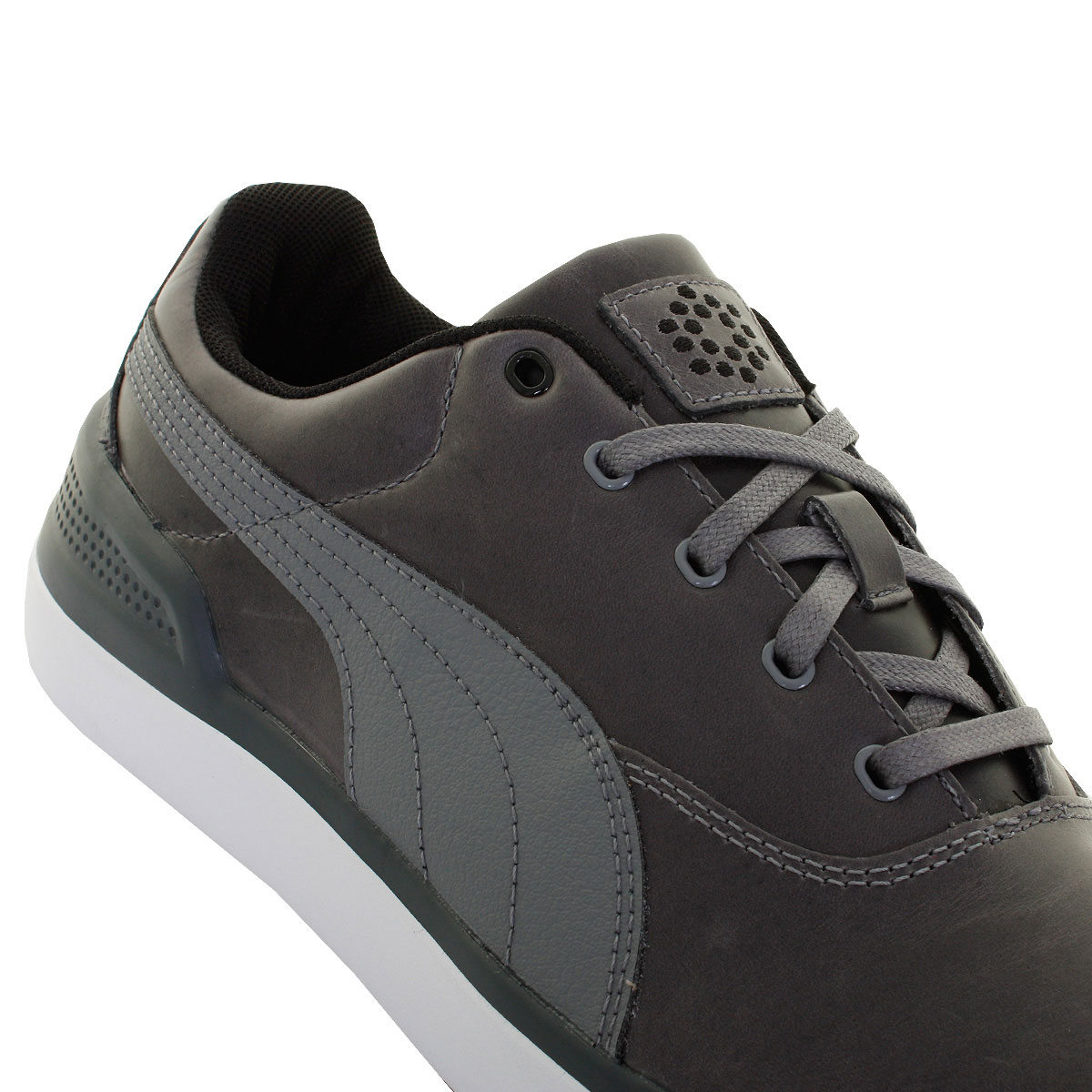 Puma-Golf-Mens-Monolite-2-0-Golf-Shoes-Spikeless-Waterproof-Leather-50-OFF-RRP thumbnail 11