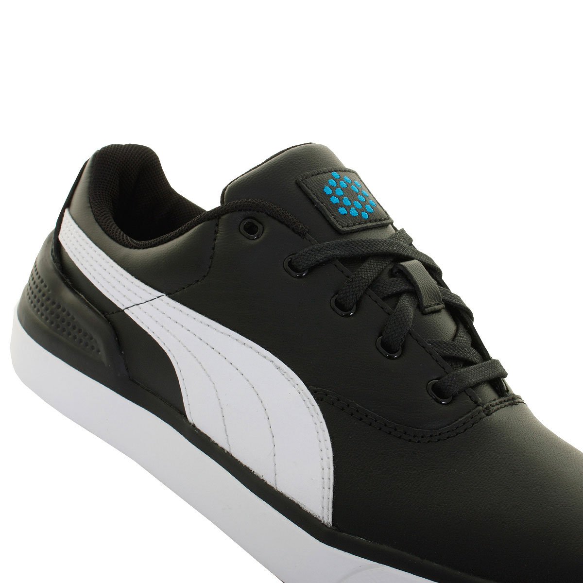 Puma Golf Mens Monolite 2.0 Golf Shoes Spikeless Waterproof Leather ... e1a1d5740