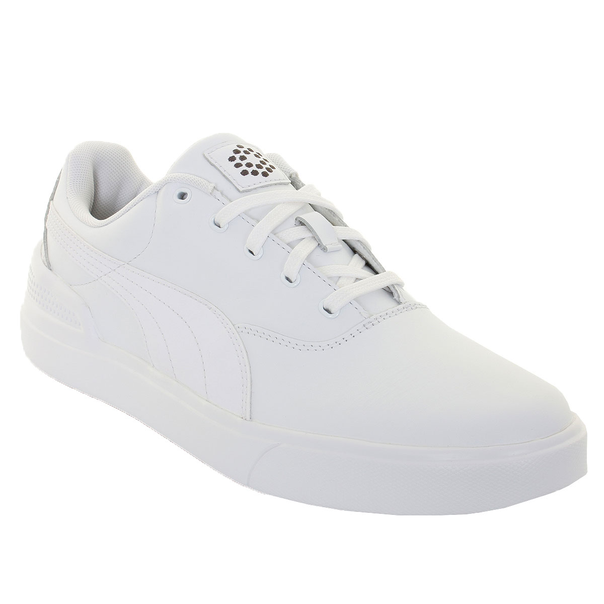 PUMA Mens Monolite V2 Spikeless Golf Shoes Trainers White 42 5  b1021c002